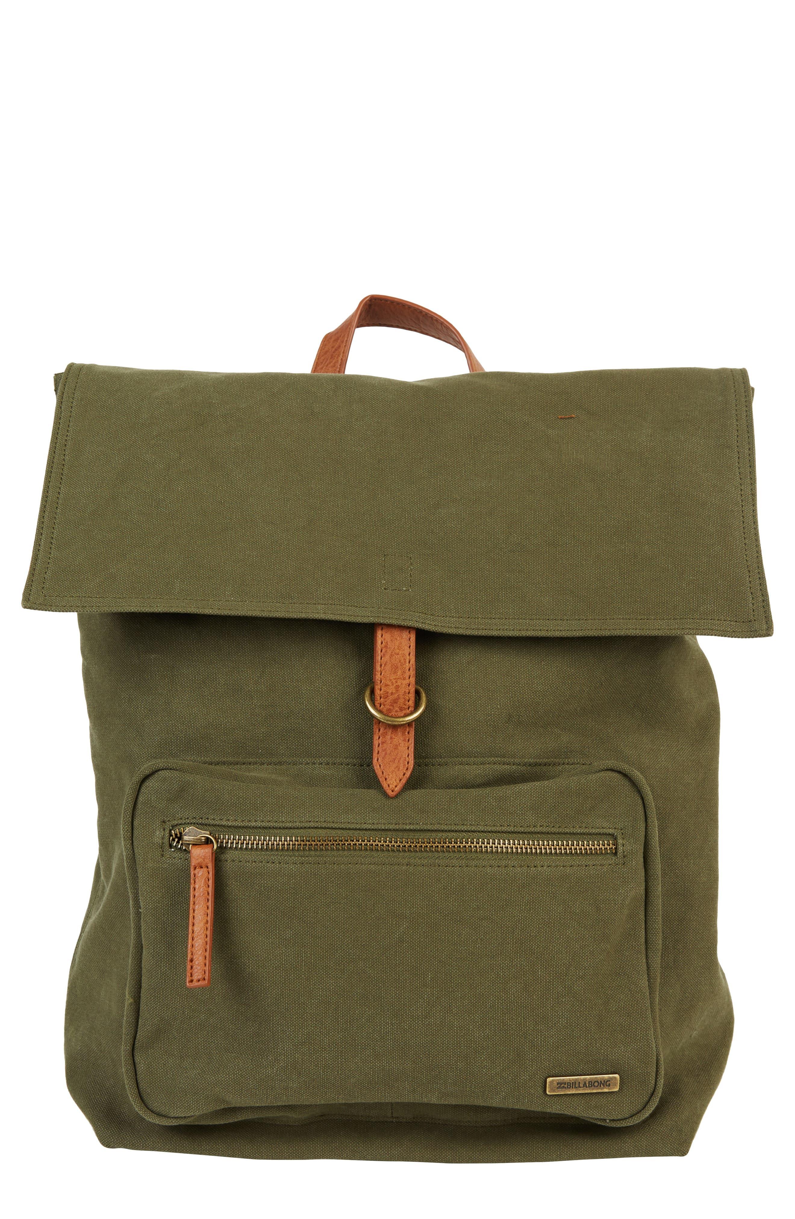 Billabong Back To Back Backpack - Green