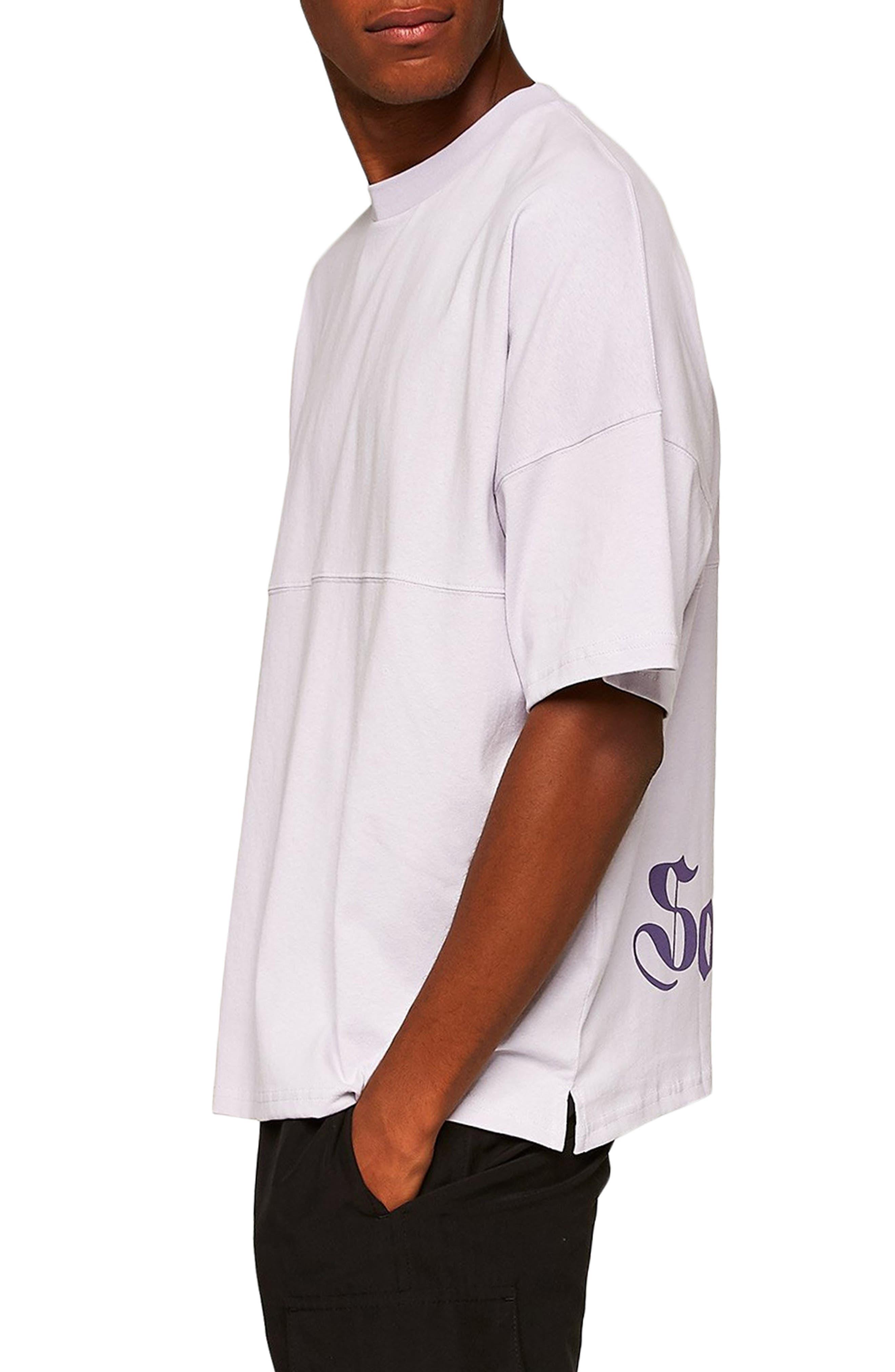 Southshore Oversize T-Shirt,                             Alternate thumbnail 3, color,                             PURPLE