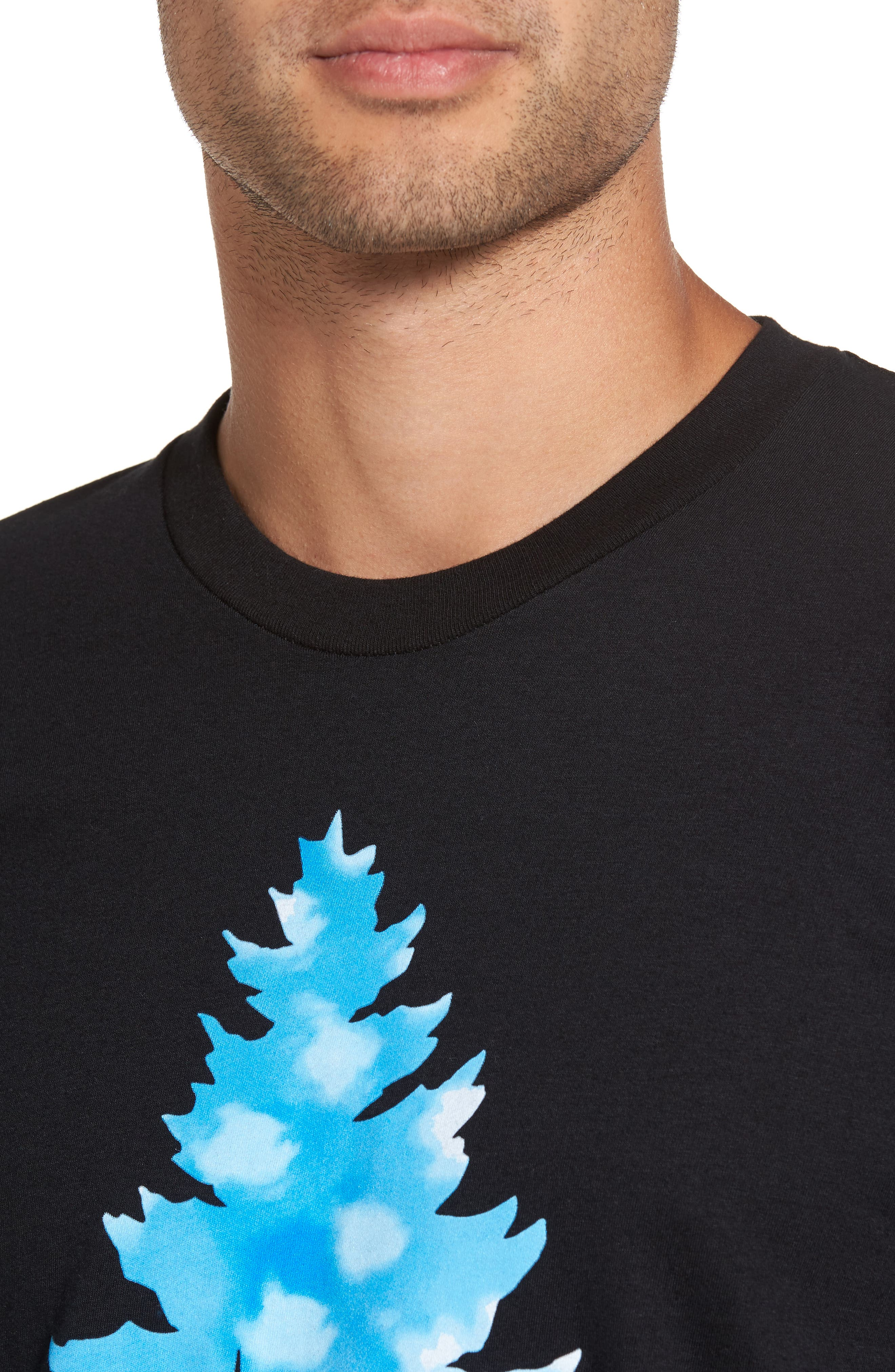 Johnny Tree Clouds T-Shirt,                             Alternate thumbnail 4, color,                             001