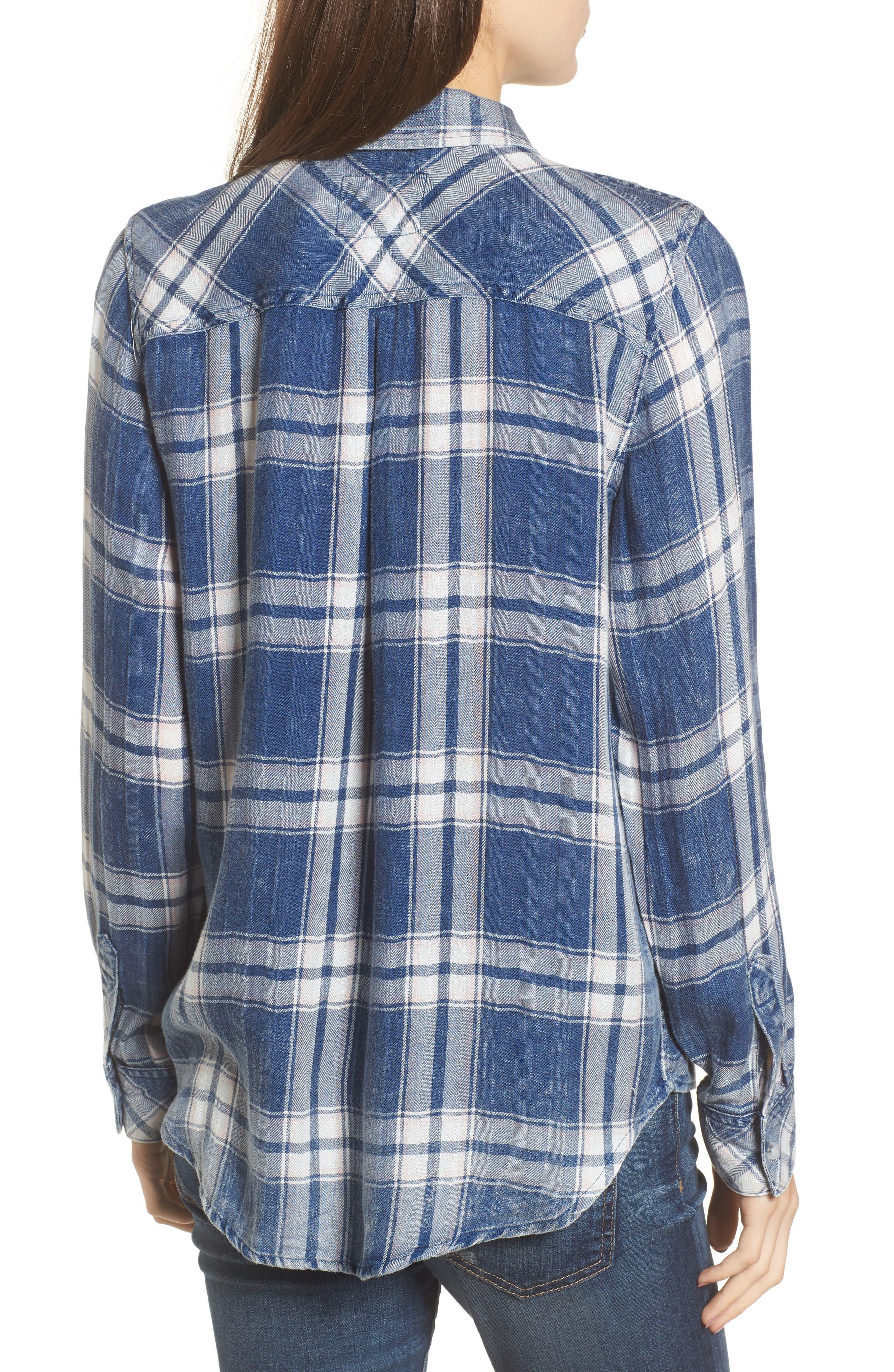 Hunter Plaid Shirt,                             Alternate thumbnail 200, color,
