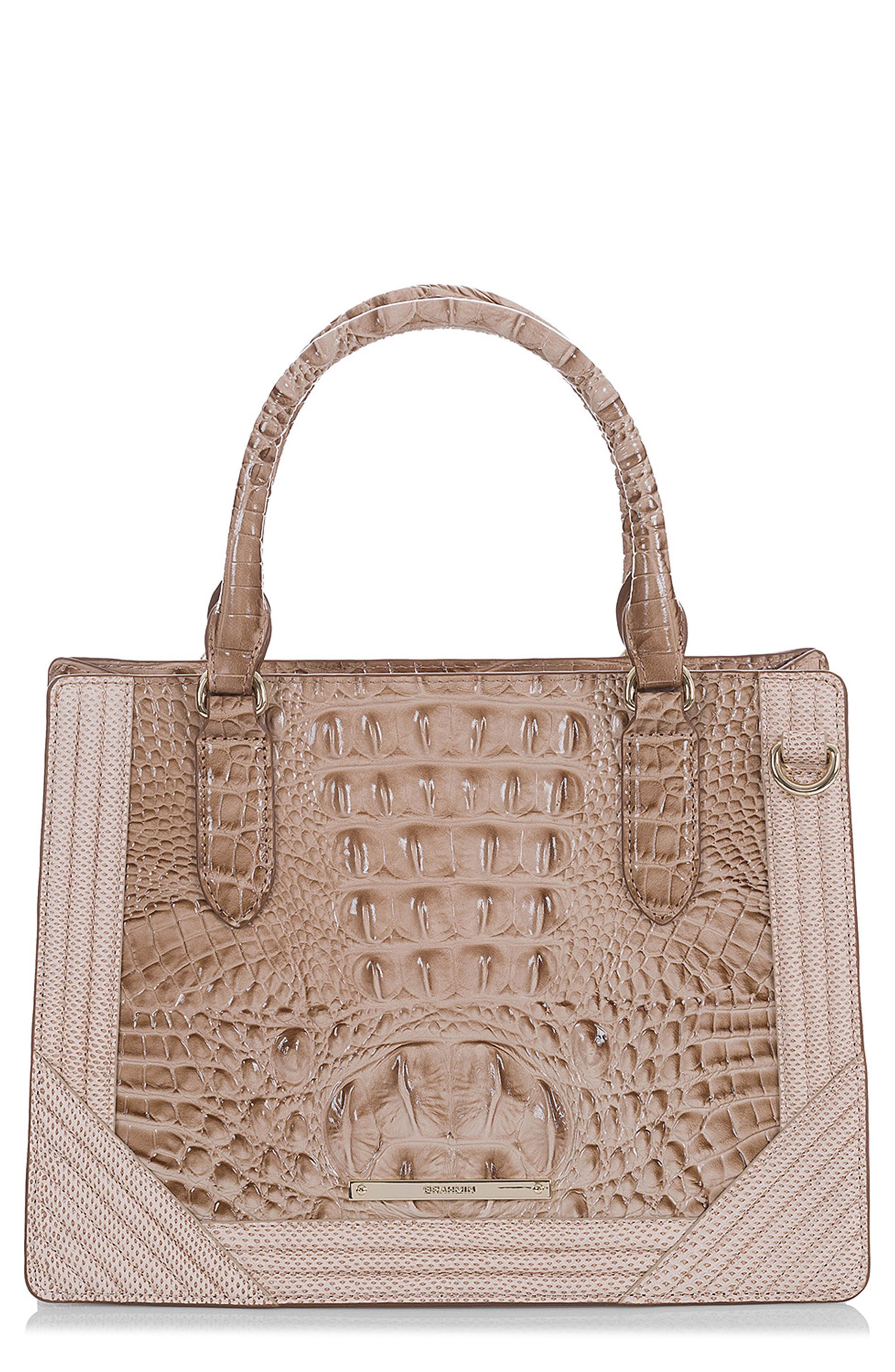 Small Camille Leather Satchel,                             Main thumbnail 1, color,                             294