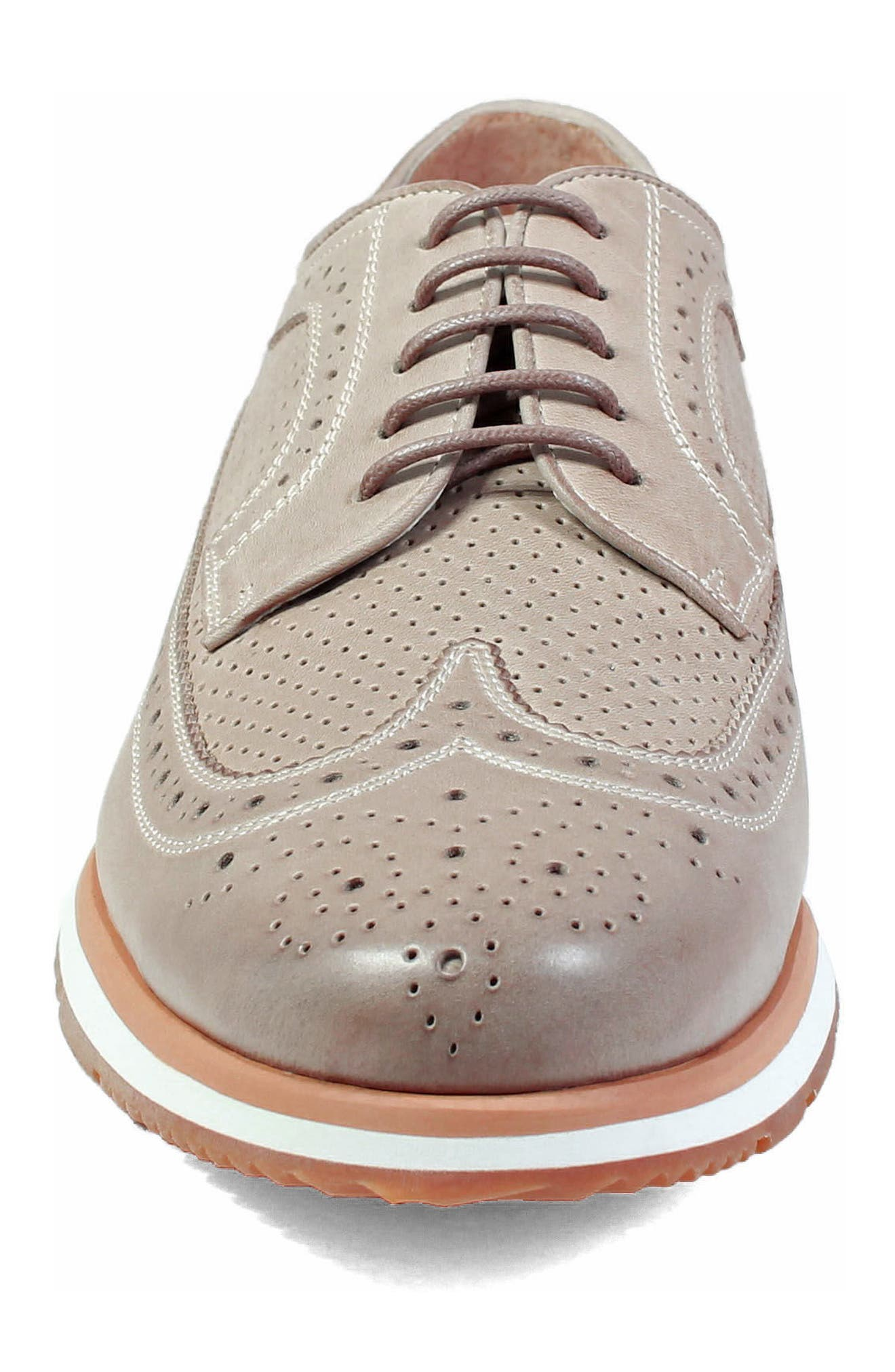 Limited Flux Perforated Wingtip Derby,                             Alternate thumbnail 11, color,