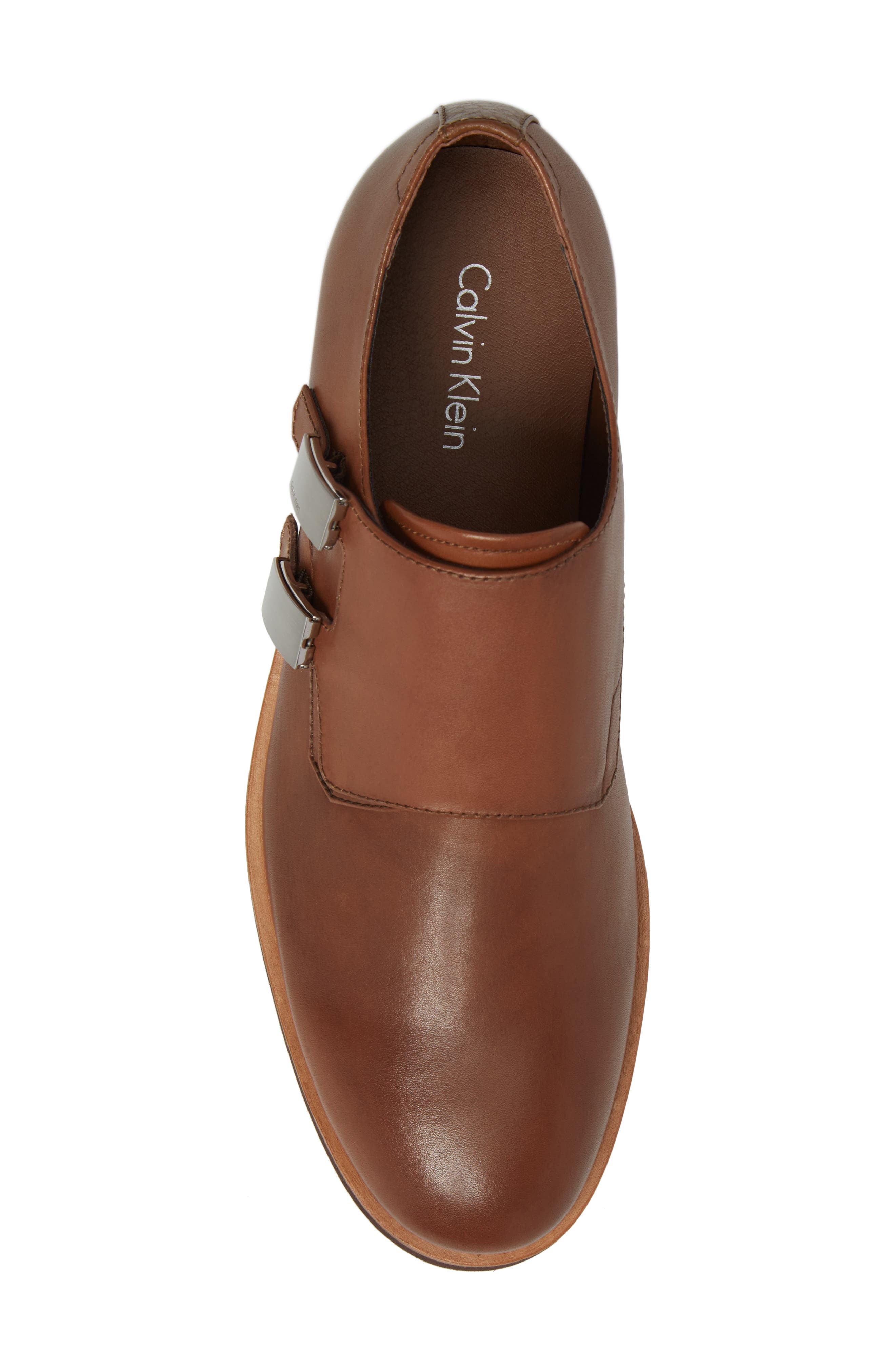 Finnegan Double Monk Strap Shoe,                             Alternate thumbnail 10, color,