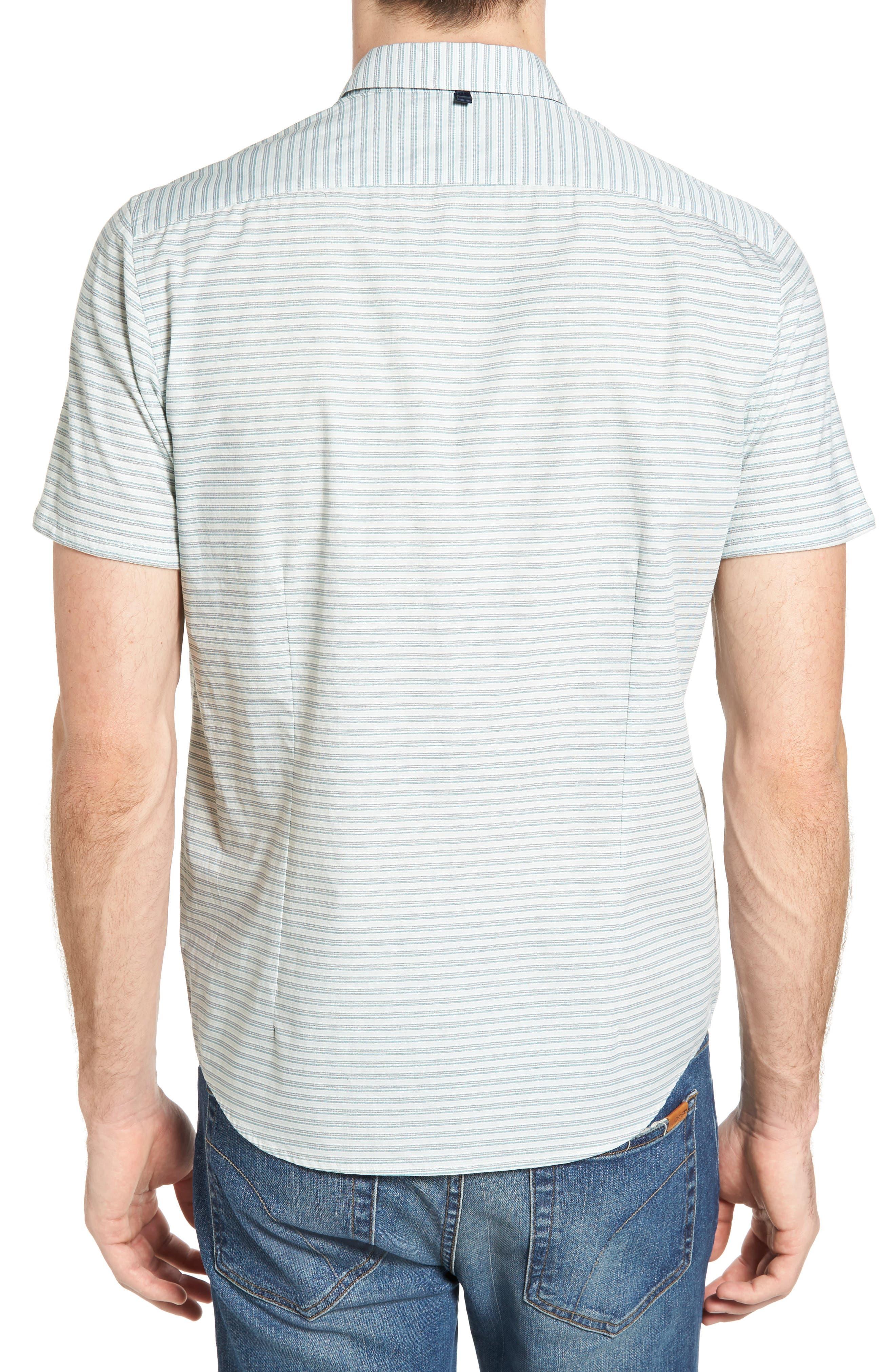 Reworked Mini Stripe Slim Fit Sport Shirt,                             Alternate thumbnail 2, color,                             104