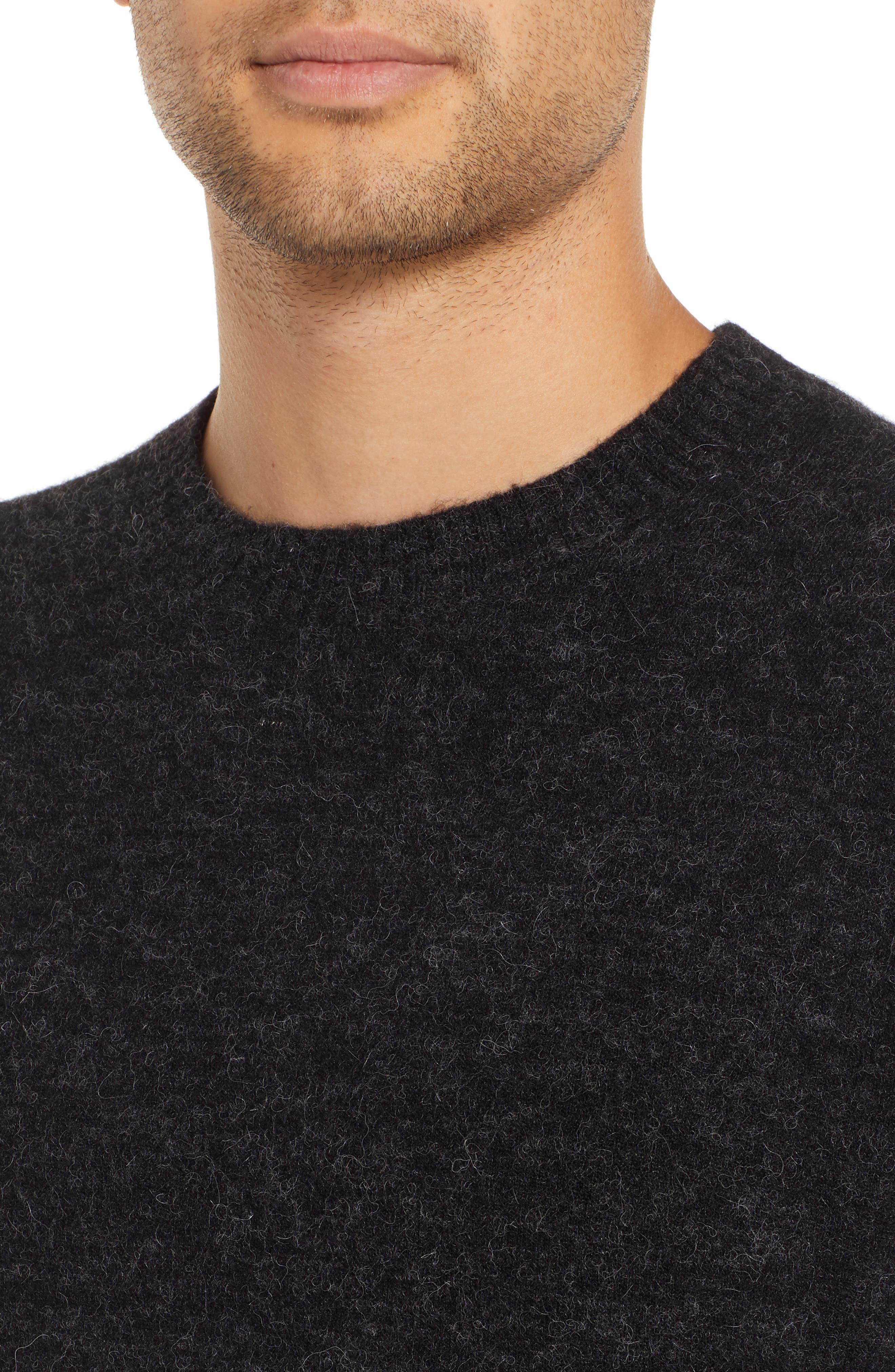 Seridon Oversize Crewneck Sweater,                             Alternate thumbnail 4, color,                             020