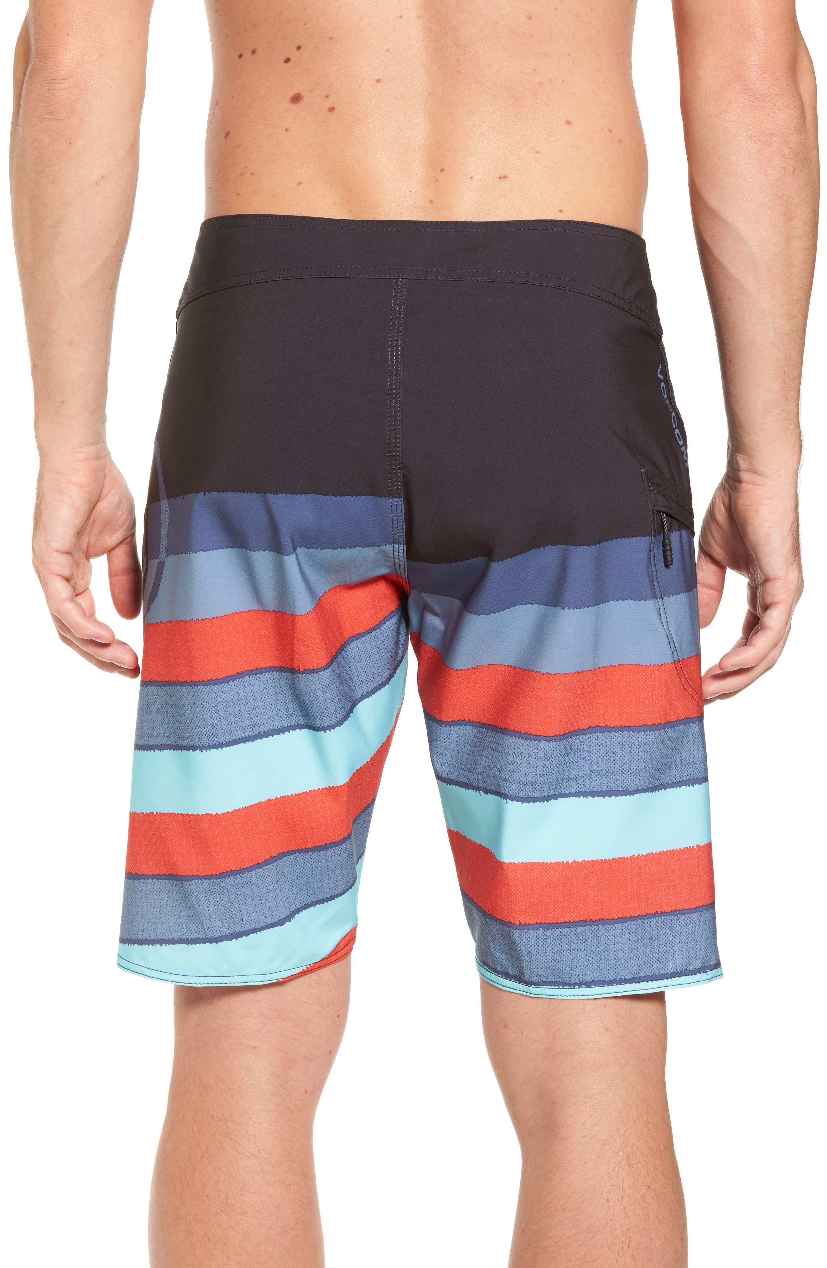 Lido Liney Mod Board Shorts,                             Alternate thumbnail 4, color,
