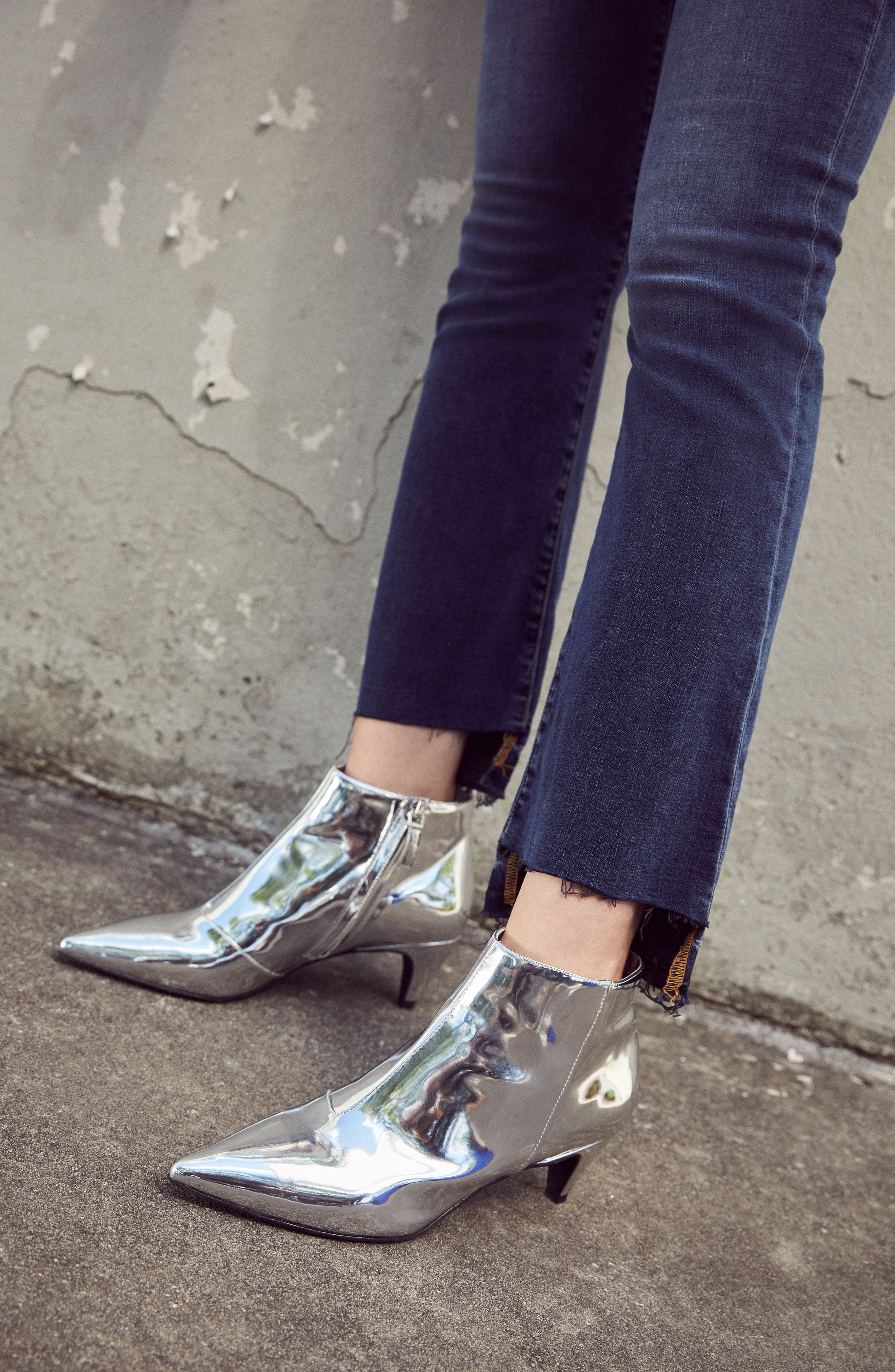 Major Pointy Toe Bootie,                             Alternate thumbnail 8, color,                             003