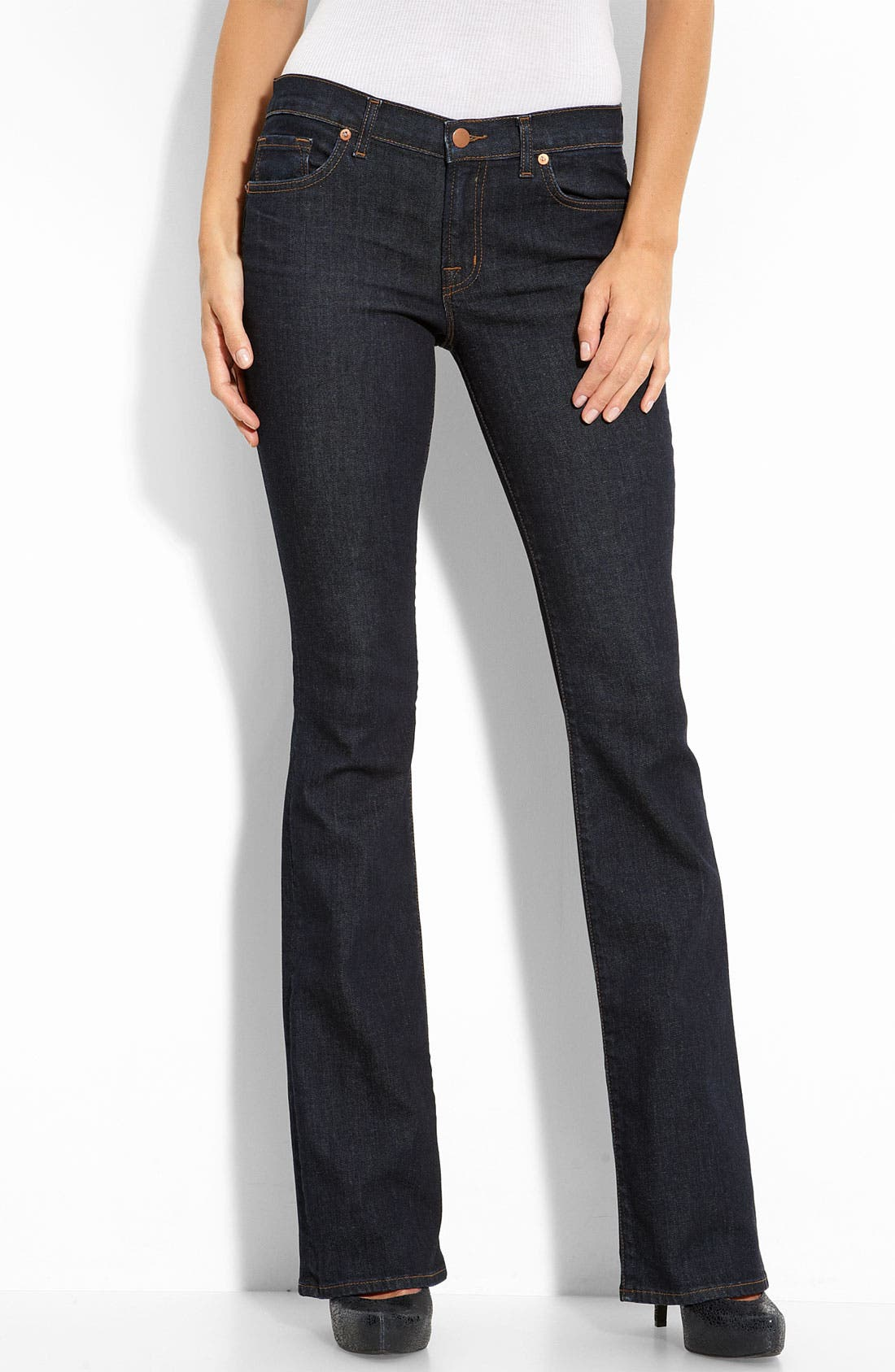 J BRAND,                             'Bailey' Bootcut Stretch Jeans,                             Alternate thumbnail 2, color,                             401