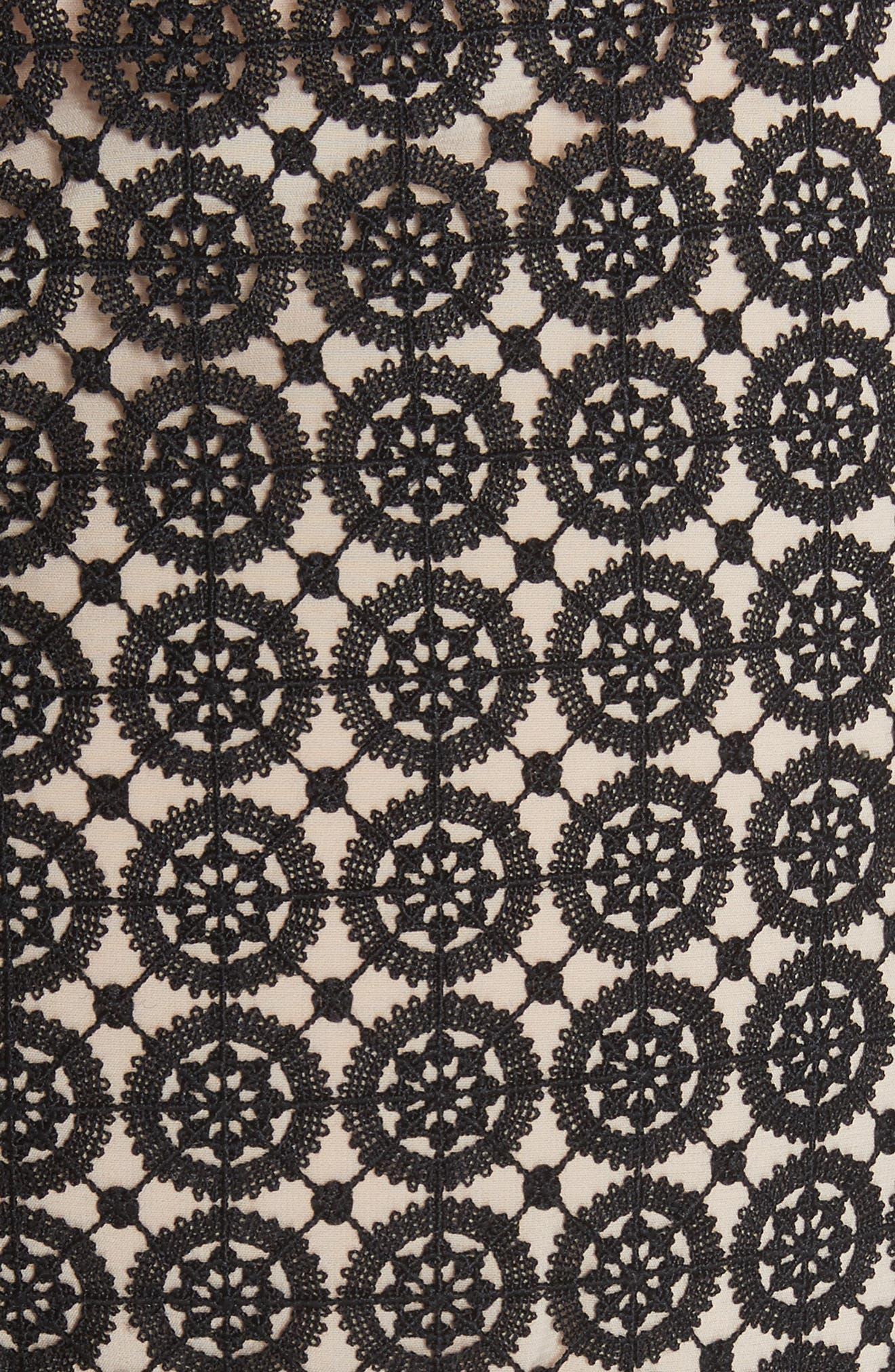 Tamika Handkerchief Lace Dress,                             Alternate thumbnail 5, color,
