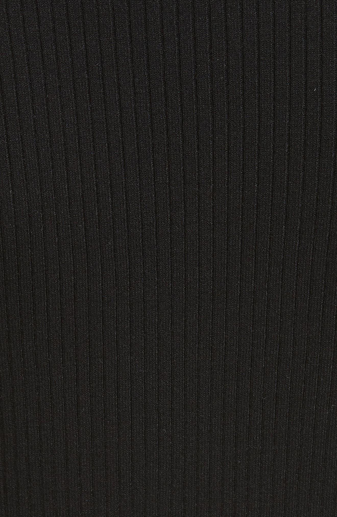 Metallic Knit Sweater,                             Alternate thumbnail 5, color,