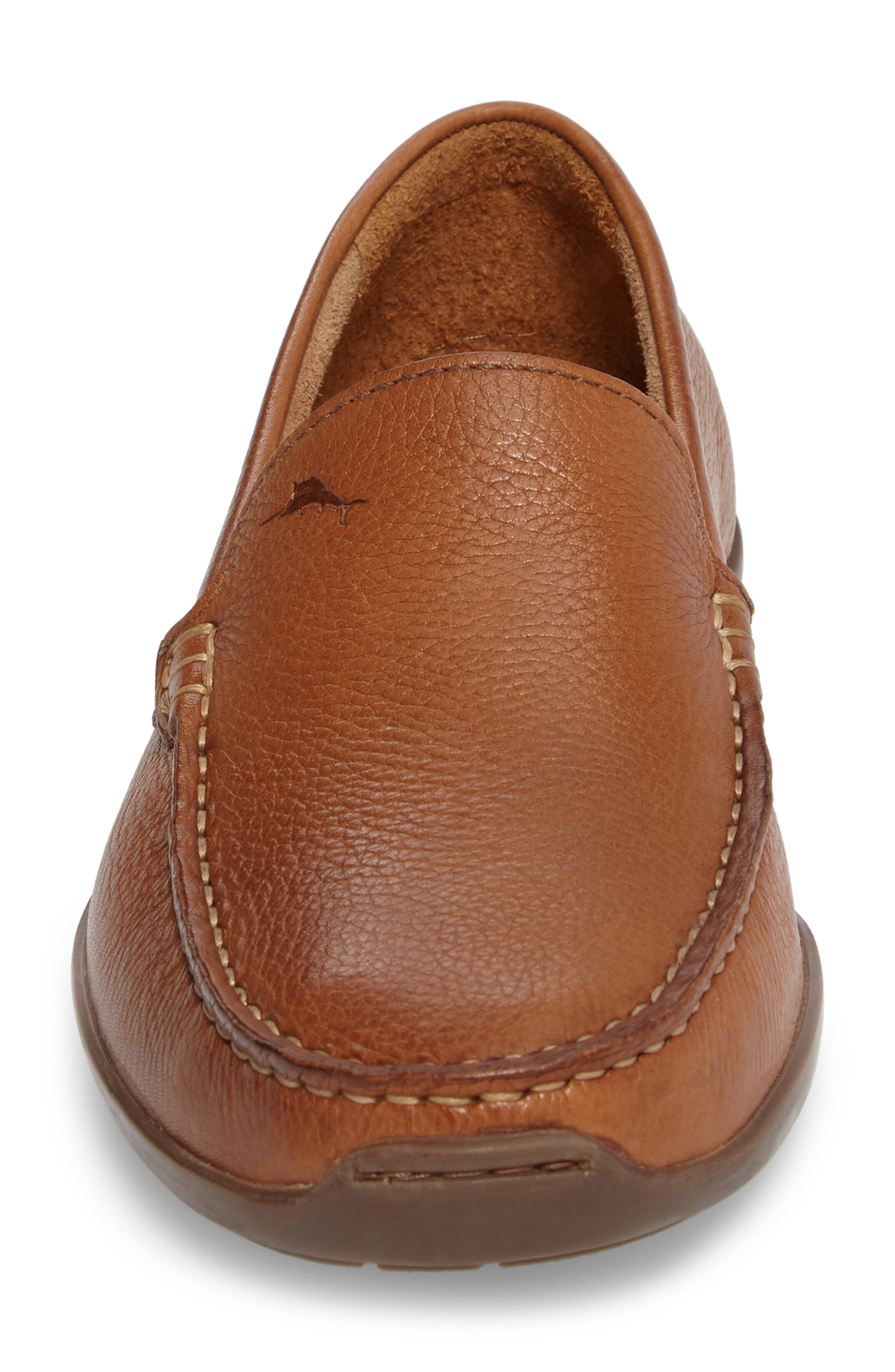 Orion Venetian Loafer,                             Alternate thumbnail 4, color,                             TAN LEATHER