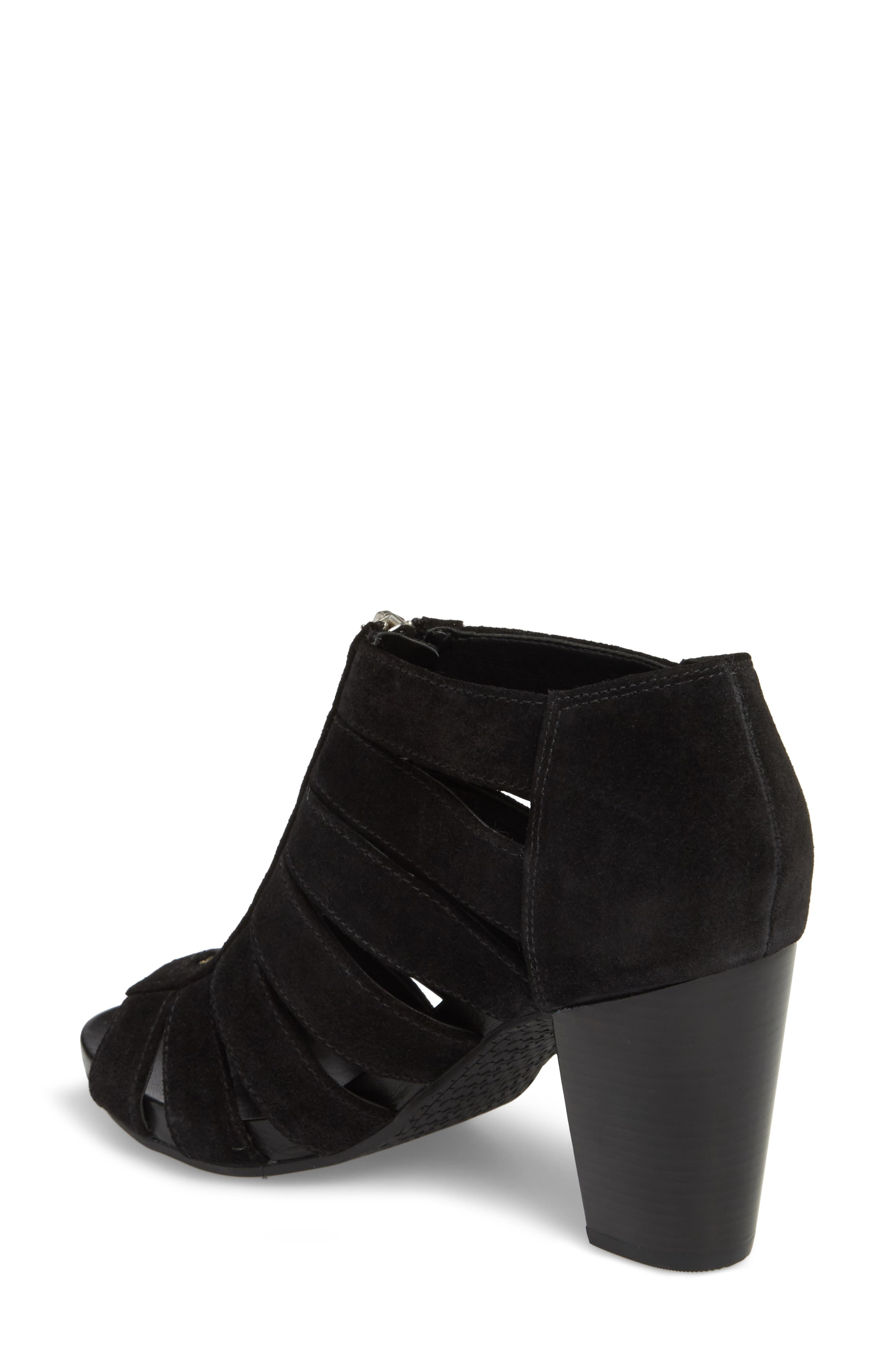 Sherry Cage Bootie,                             Alternate thumbnail 4, color,