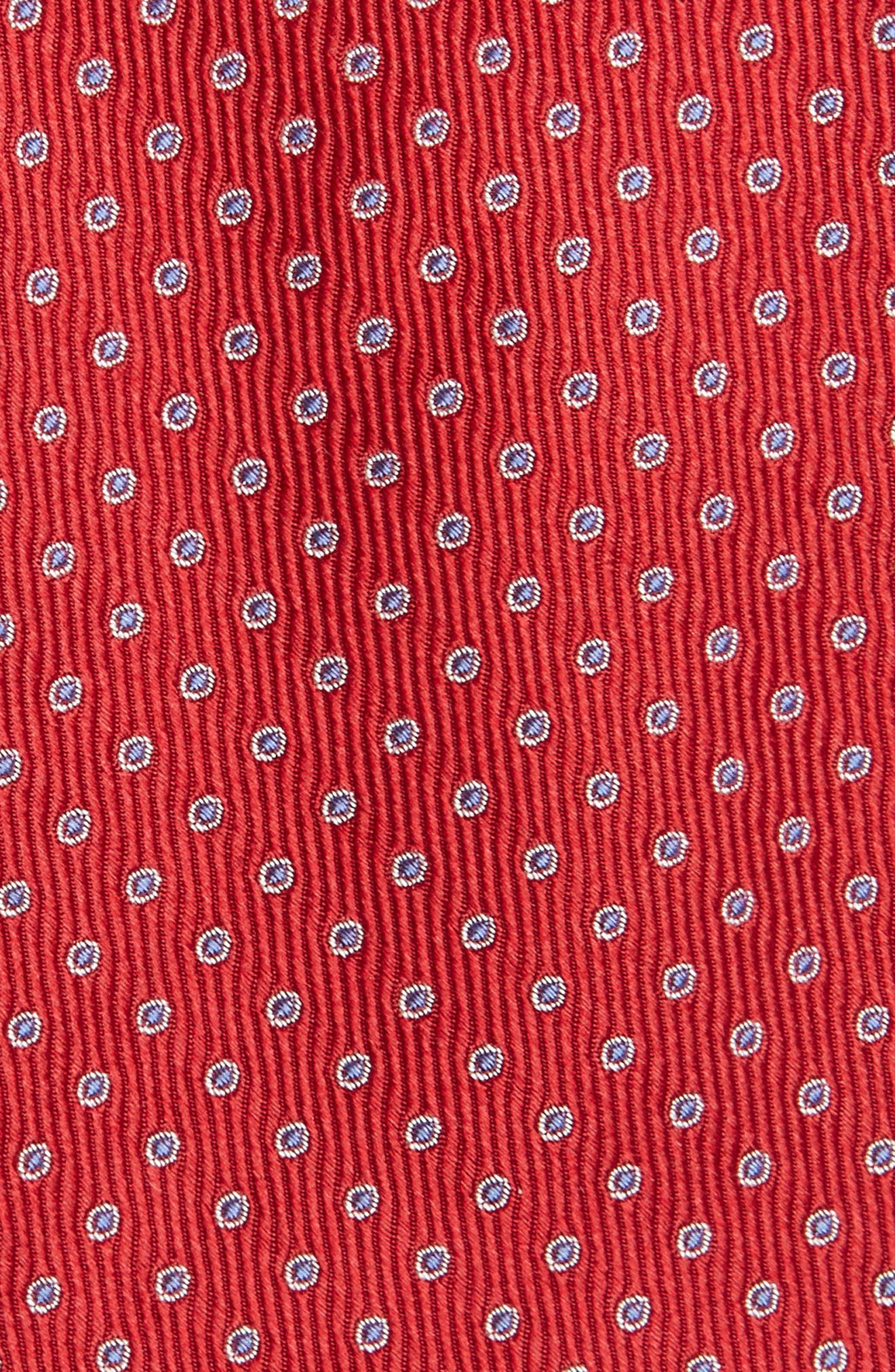Newport Dot Silk Tie,                             Alternate thumbnail 15, color,