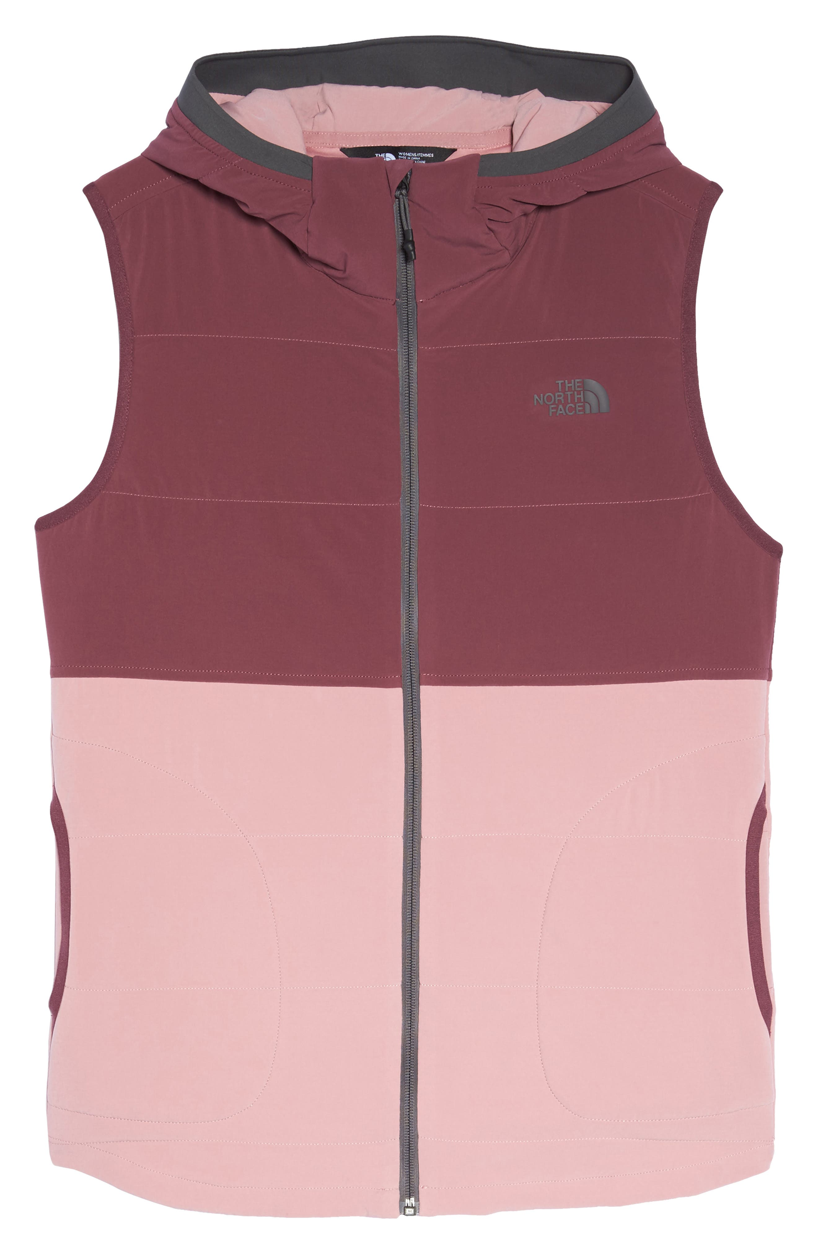 Mountain Sweatshirt Insulated Hooded Vest,                             Alternate thumbnail 20, color,