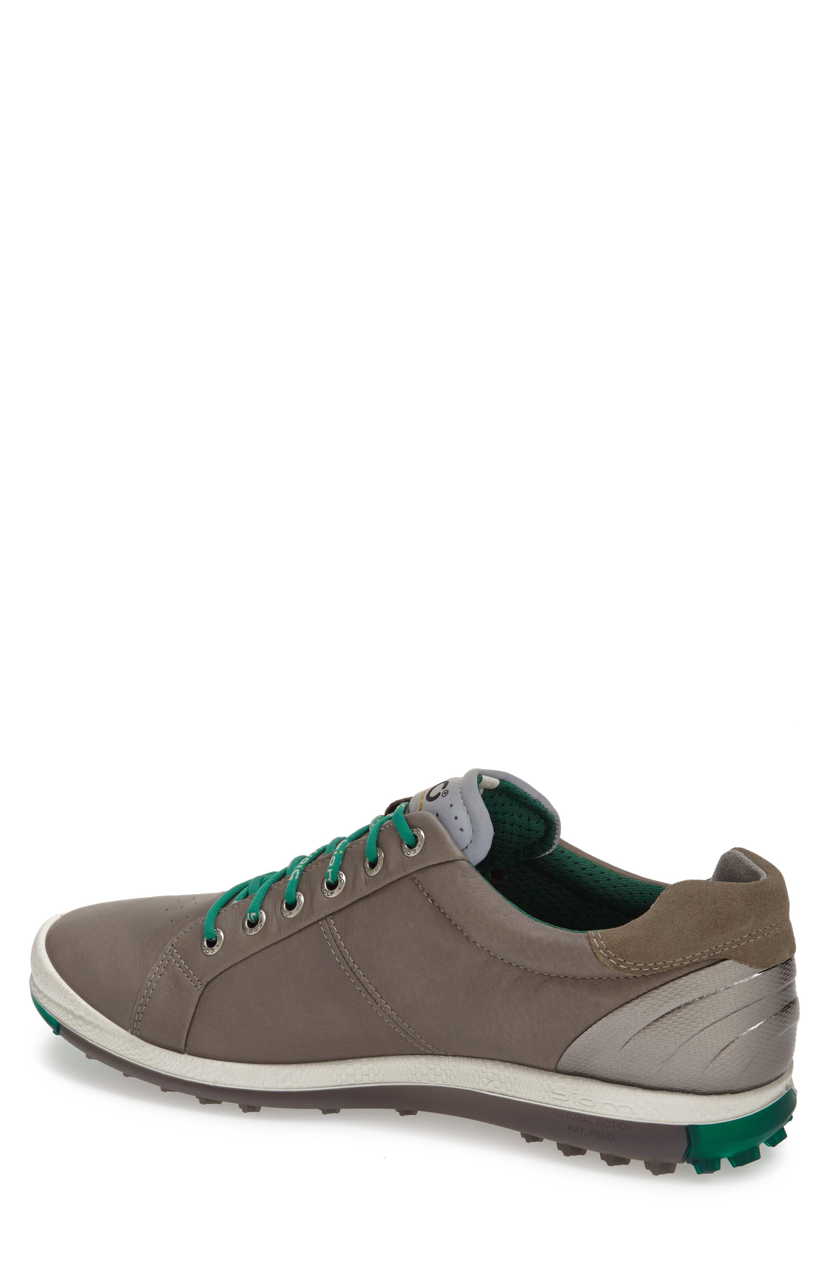 BIOM Hybrid 2 Golf Shoe,                             Alternate thumbnail 2, color,                             WARM GREY/ GREEN