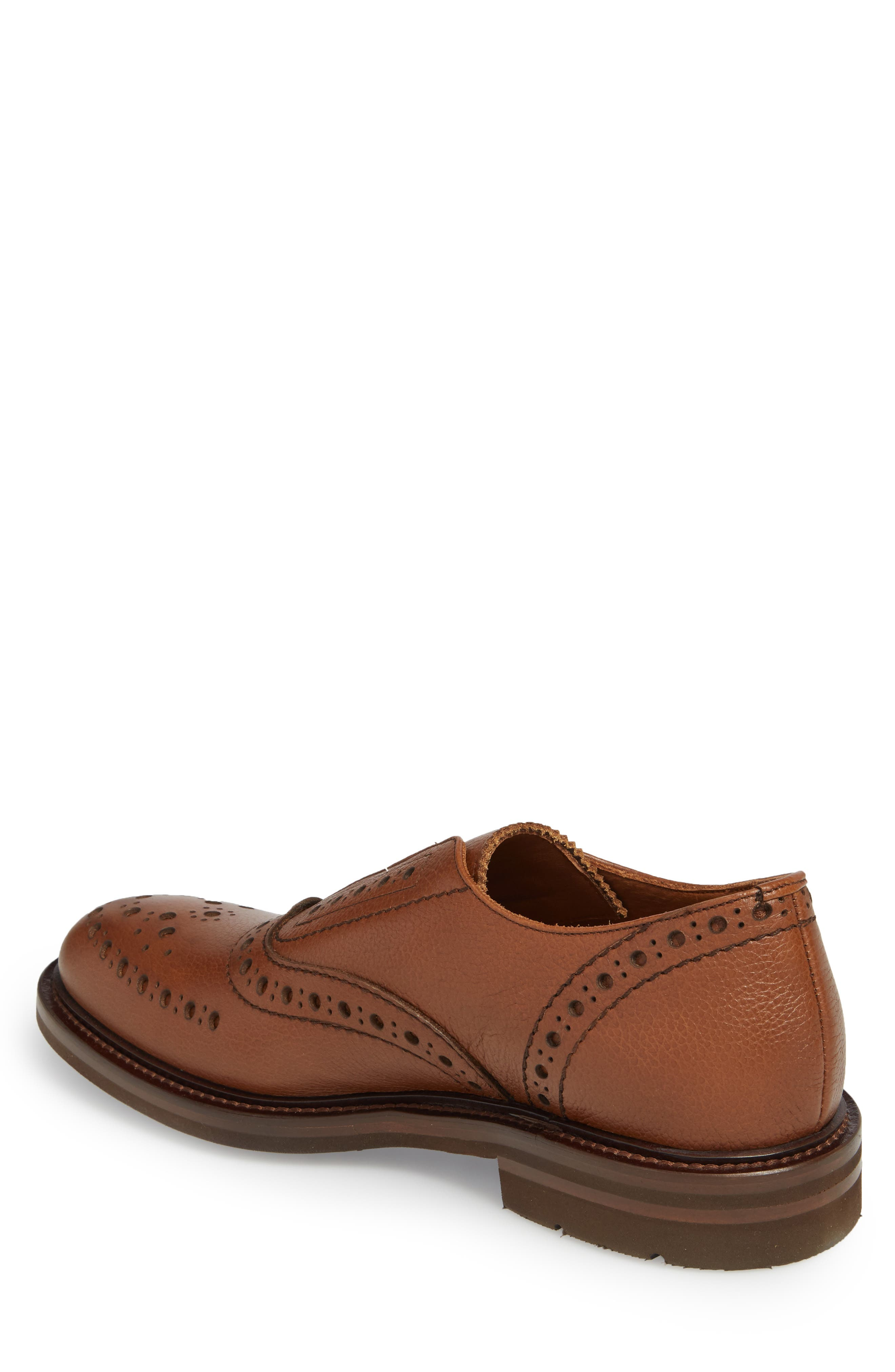 Romeo Weatherproof Laceless Oxford,                             Alternate thumbnail 2, color,                             NUT