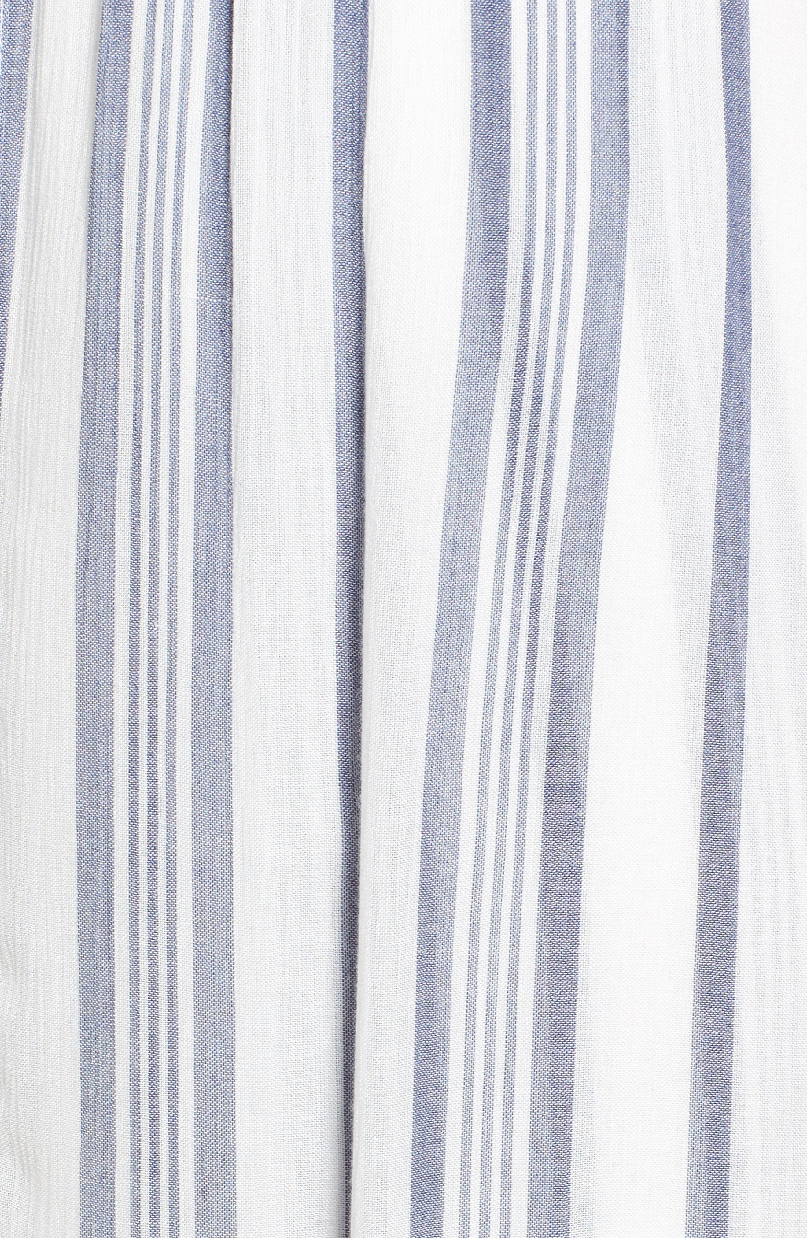 Stripe Walk Through Romper,                             Alternate thumbnail 5, color,                             400