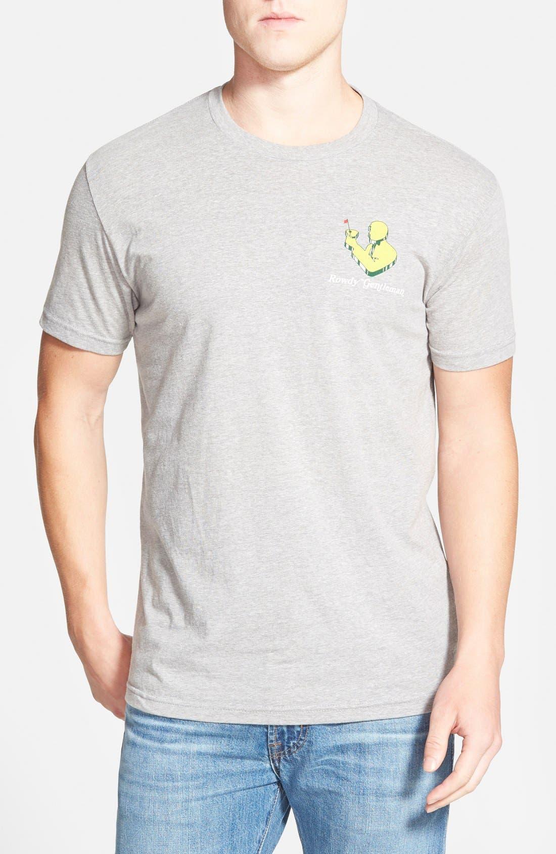 'Tournament' Graphic T-Shirt,                             Alternate thumbnail 3, color,                             031