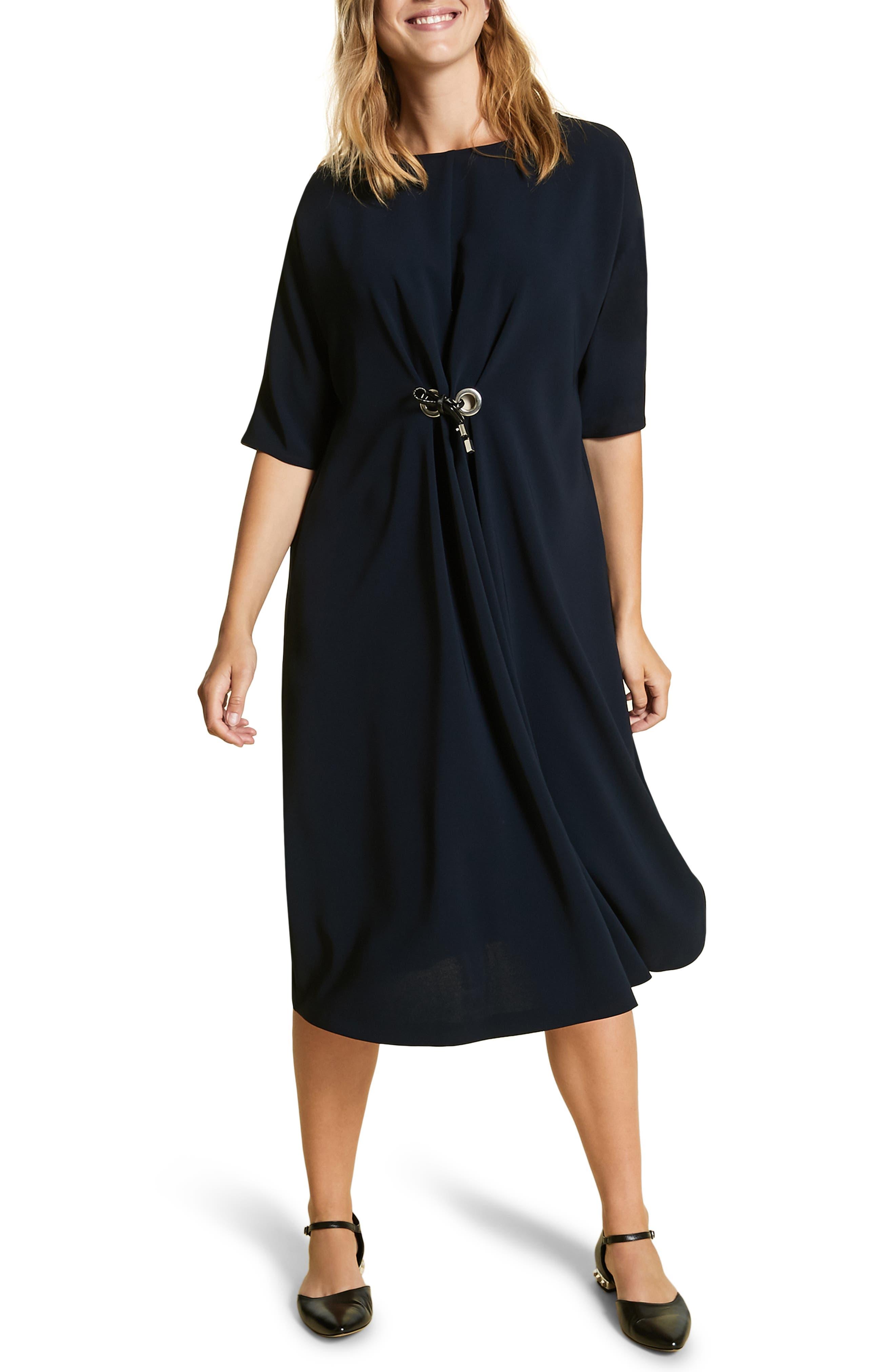 Plus Size Marina Rinaldi Dattilo A-Line Dress, Blue