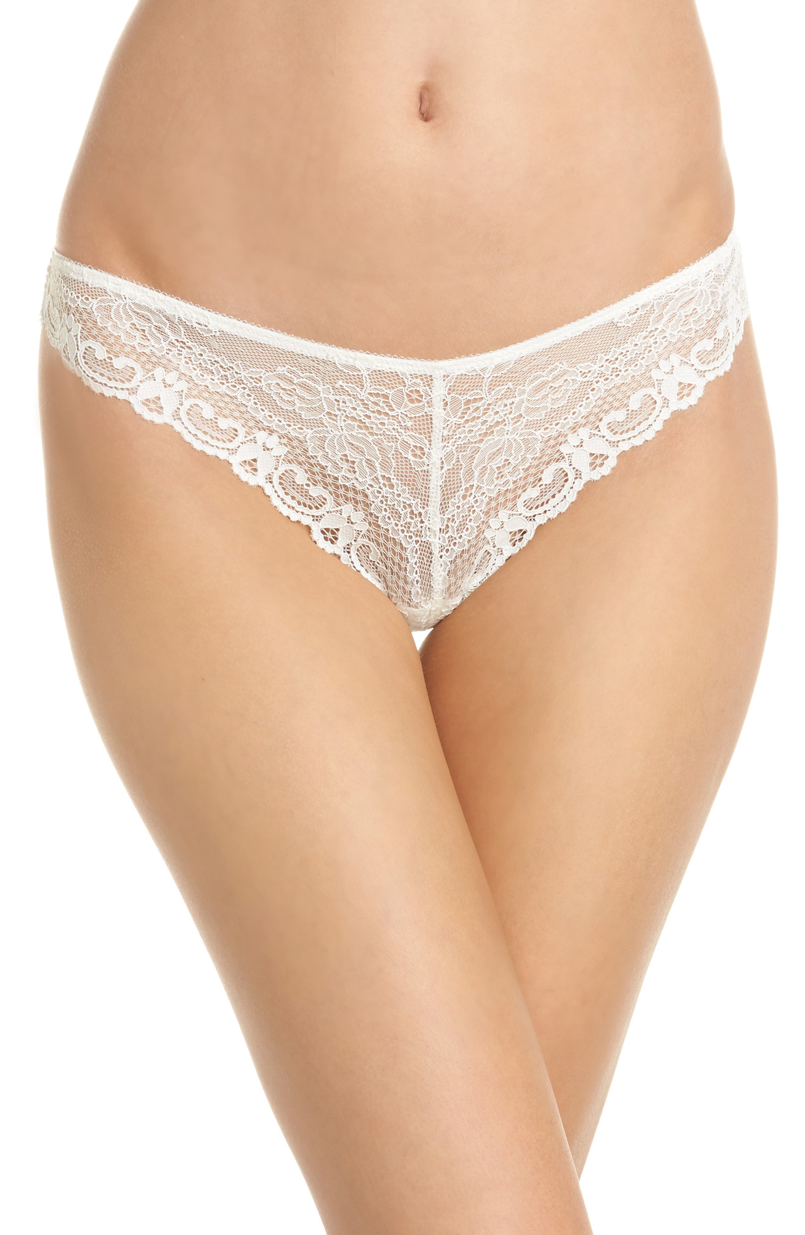 Cordelia Lace Thong,                         Main,                         color, 900