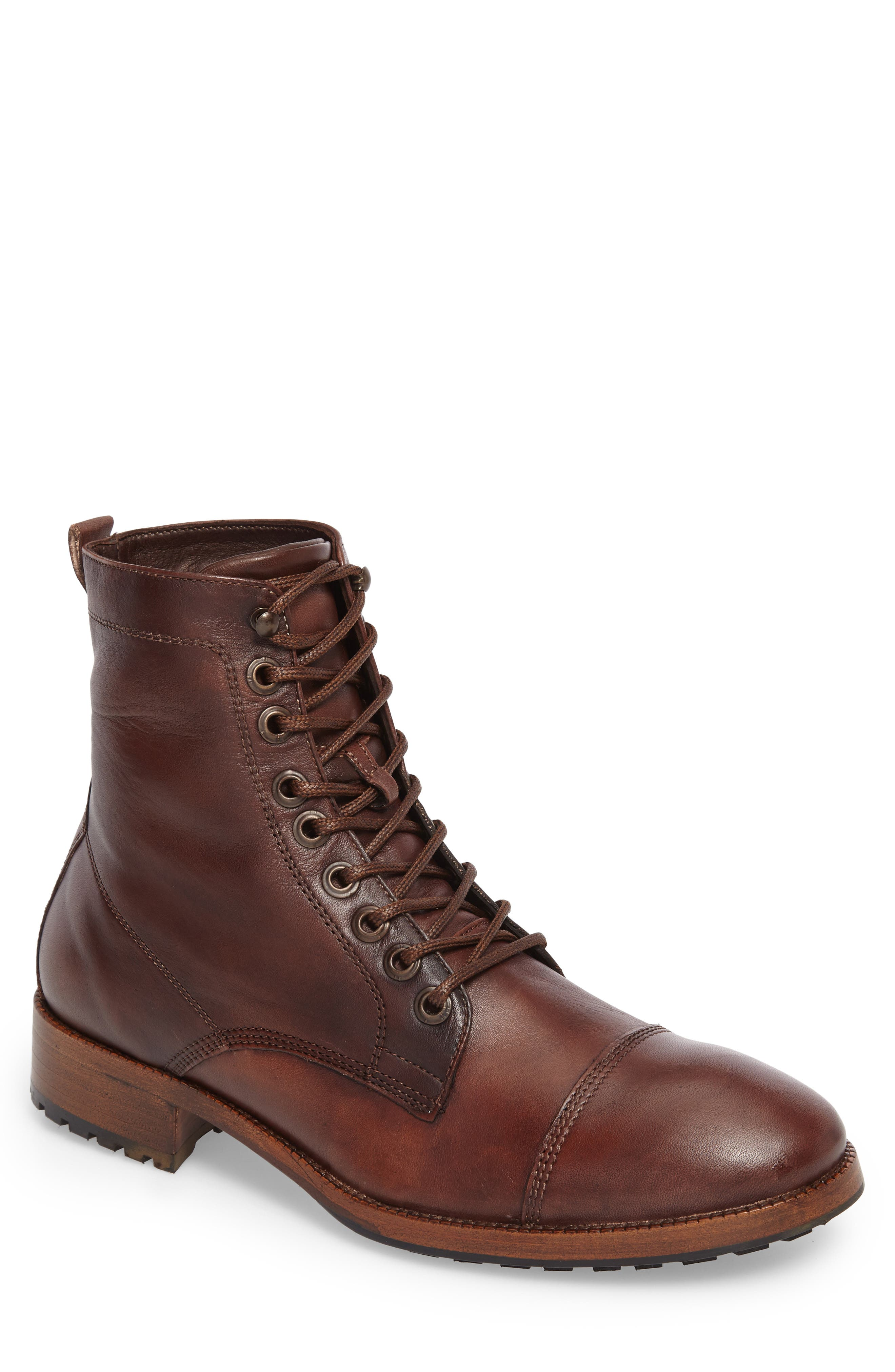 x GQ Ted Cap Toe Boot,                         Main,                         color, 200