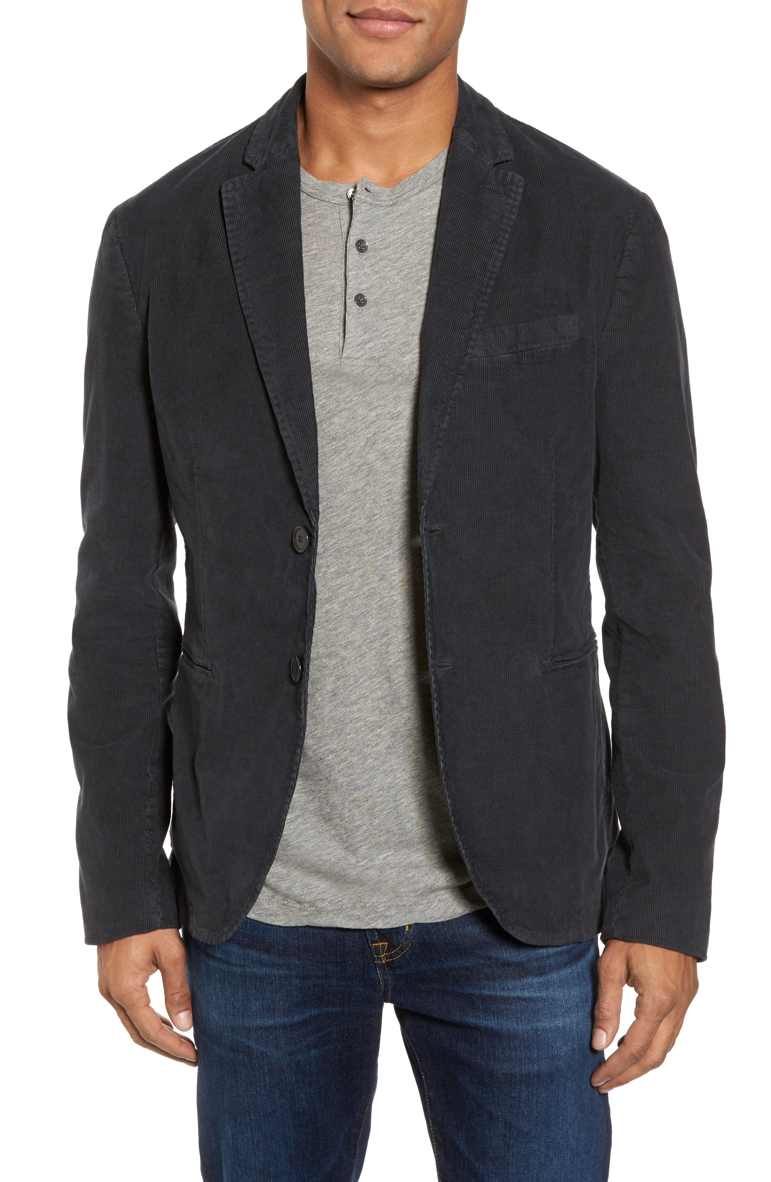 Stretch Corduroy Jacket,                             Main thumbnail 1, color,                             020