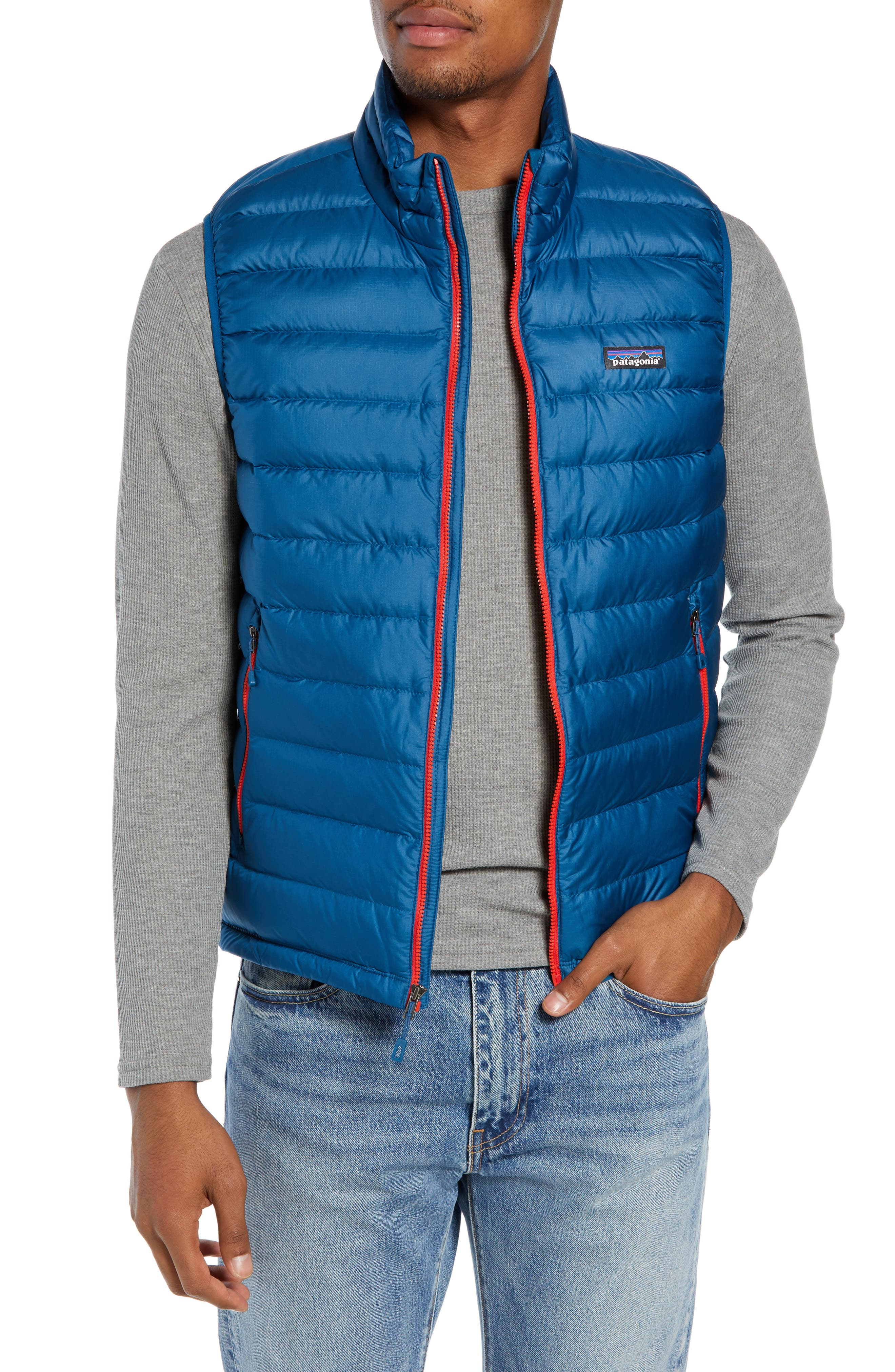 Windproof & Water Resistant 800 Fill Power Down Quilted Vest,                             Main thumbnail 3, color,