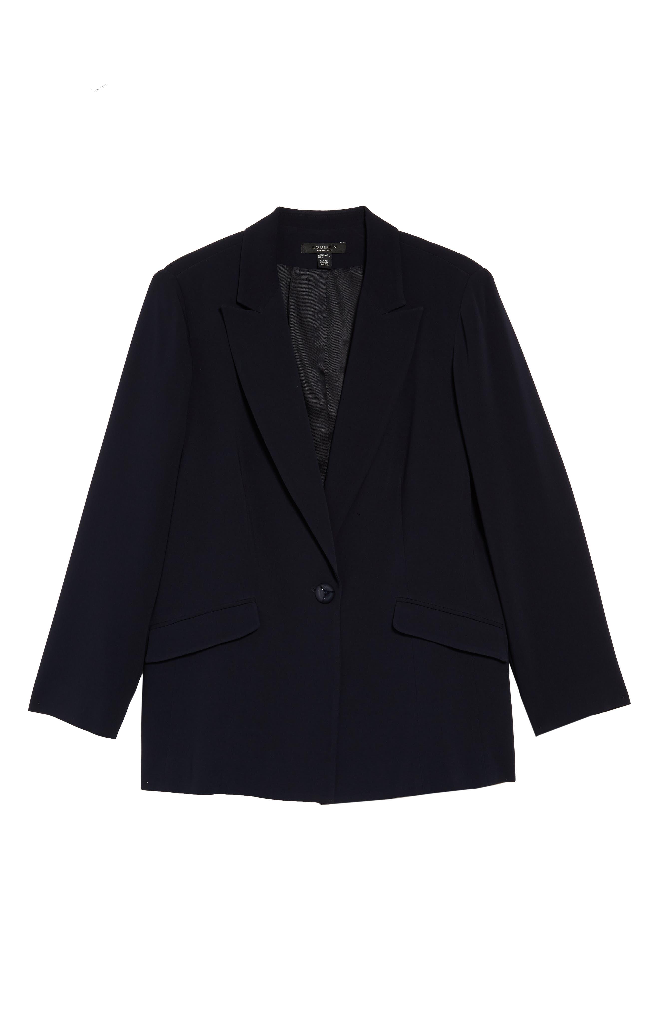Peak Lapel Suit Jacket,                             Alternate thumbnail 5, color,