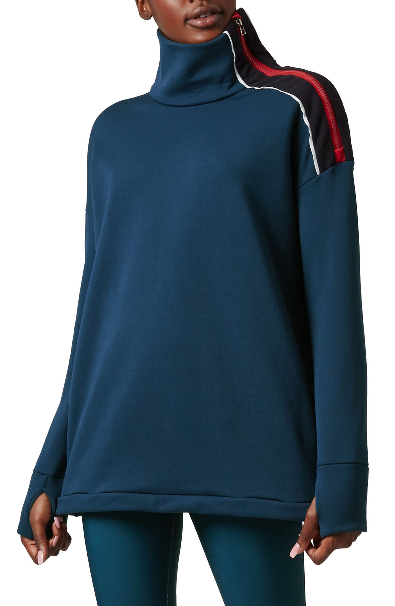 Infield Thermal Pullover,                             Main thumbnail 1, color,                             400