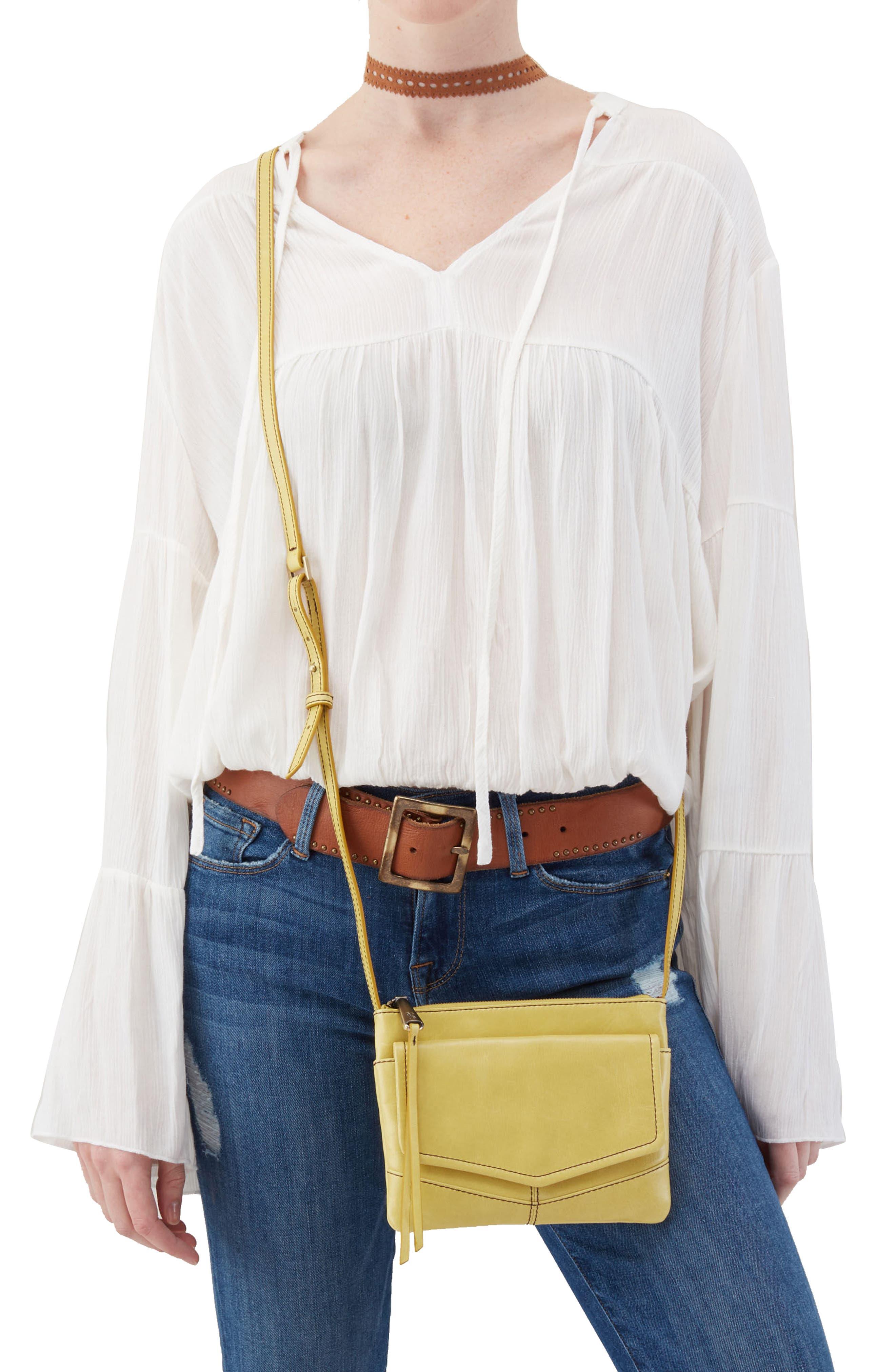 Amble Leather Crossbody Bag,                             Alternate thumbnail 14, color,