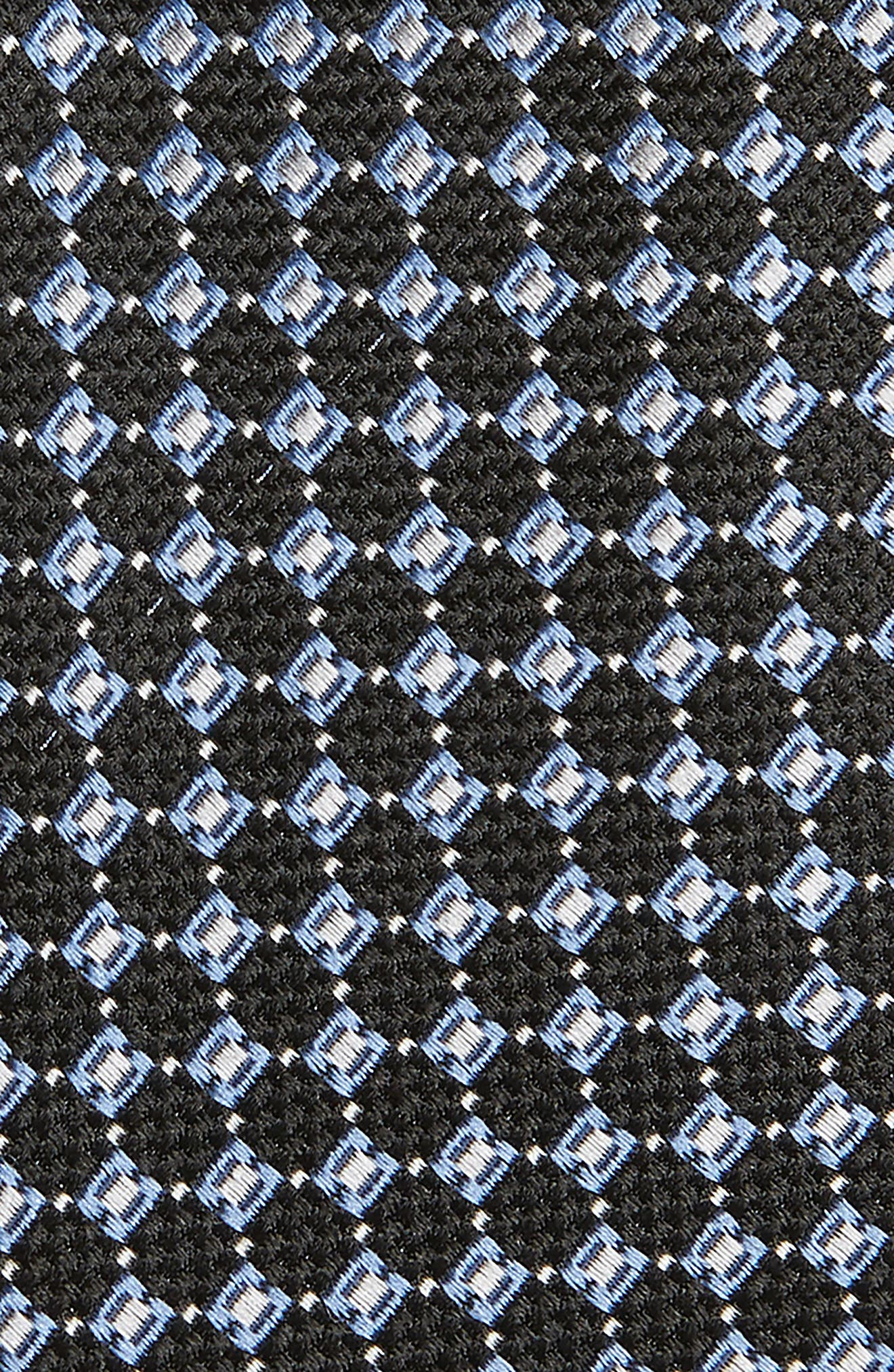 Kitson Geometric Silk Tie,                             Alternate thumbnail 2, color,                             001