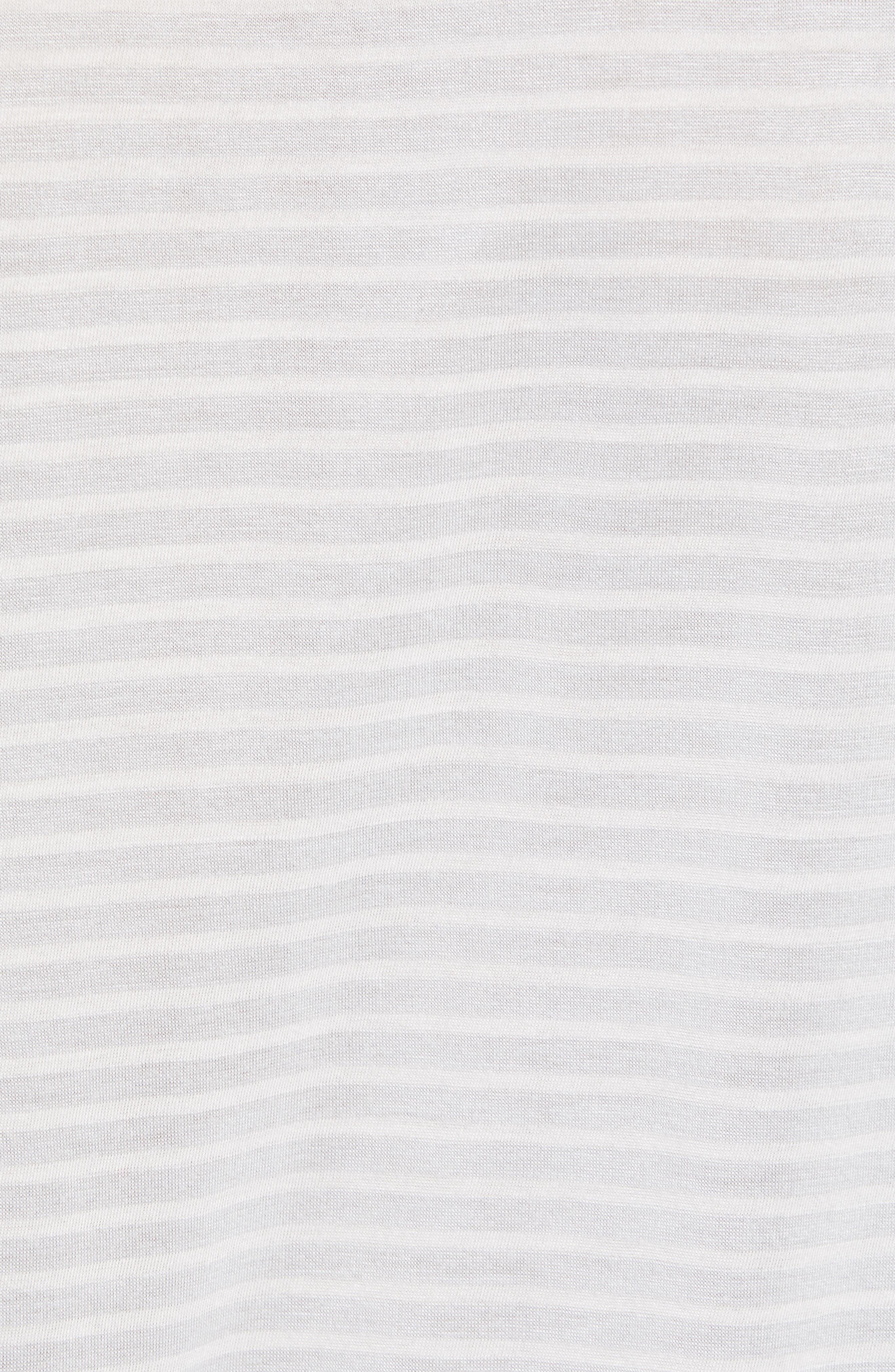 Texture Stripe Long Sleeve T-Shirt,                             Alternate thumbnail 5, color,                             050