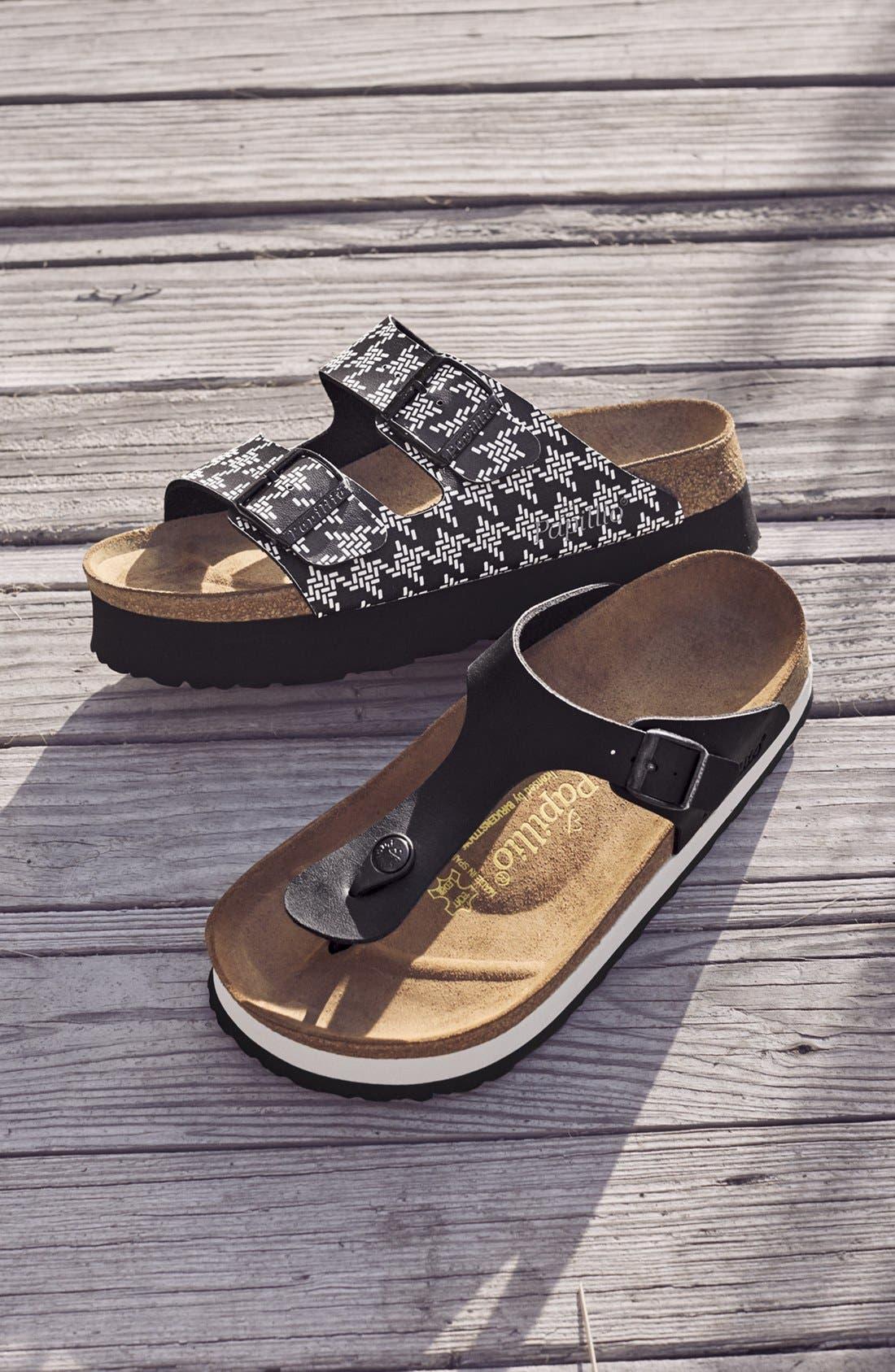 Papillio by Birkenstock 'Arizona - Birko-Flor' Platform Sandal,                             Alternate thumbnail 3, color,                             040