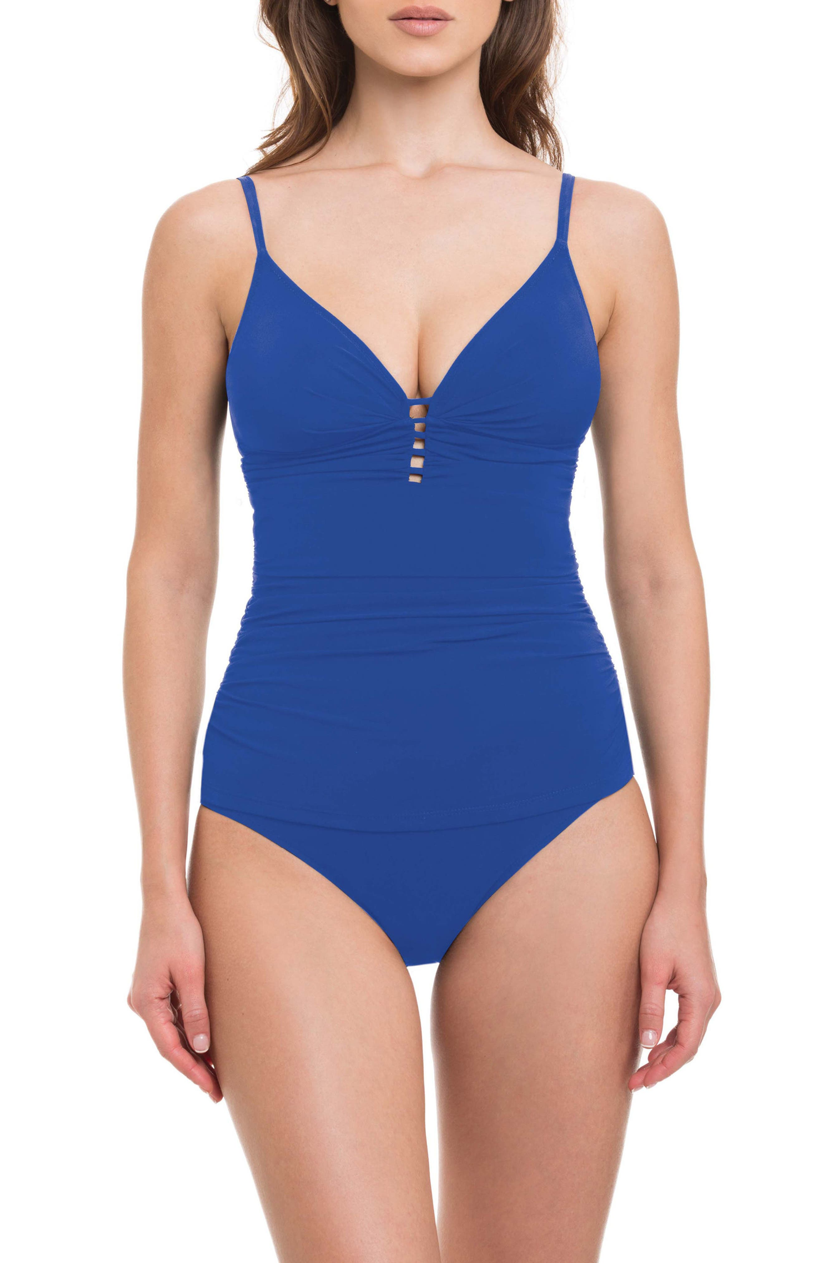 Cocktail Party Tankini Top,                         Main,                         color, ROYAL