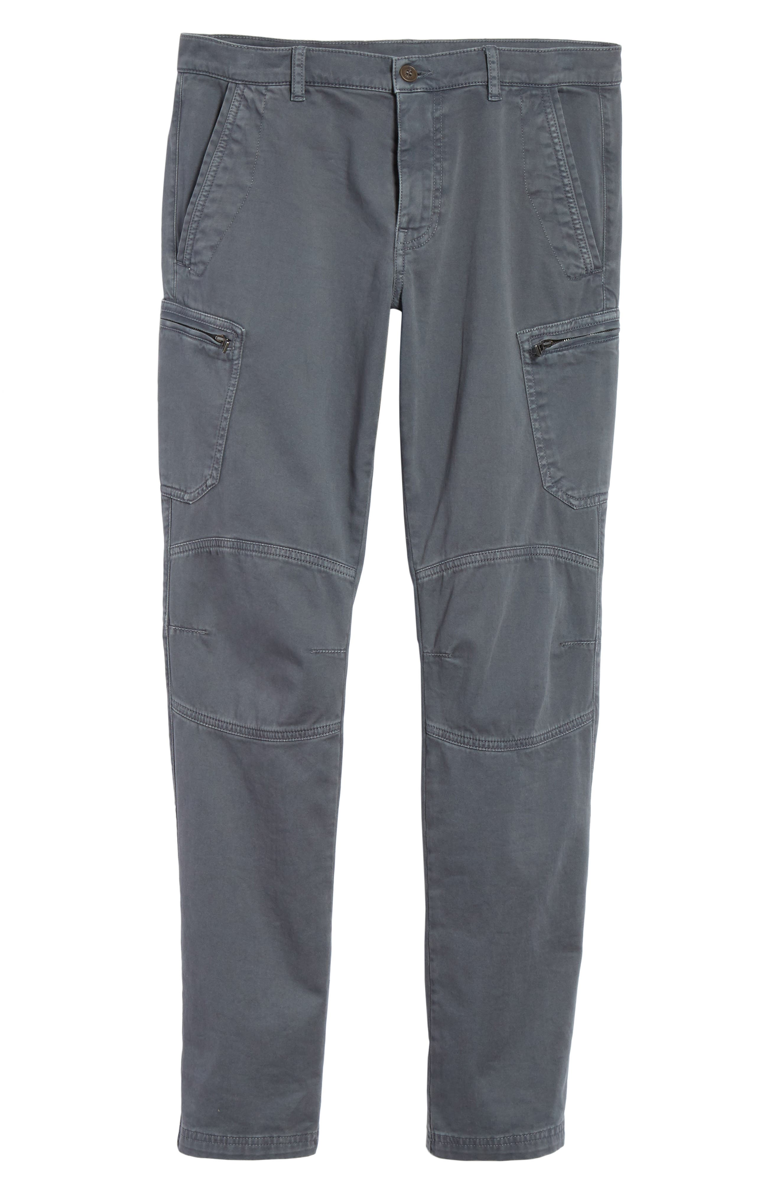Garment Dyed Cargo Pants,                             Alternate thumbnail 6, color,                             022