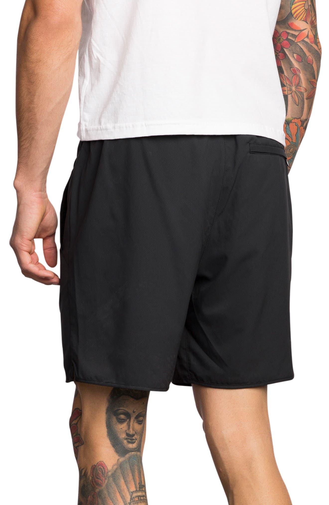 Spectrum Sport Shorts,                             Alternate thumbnail 3, color,                             BLACK