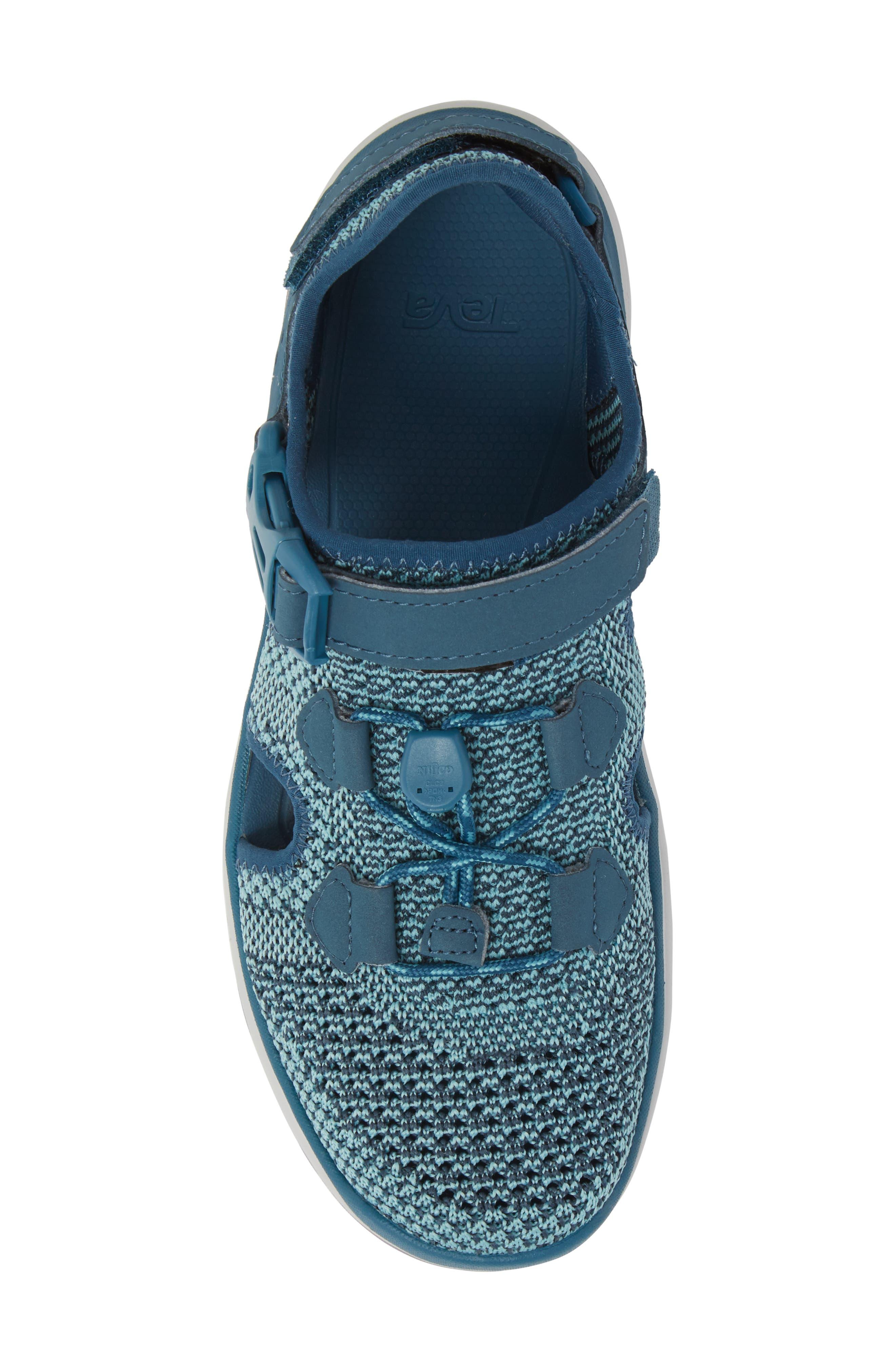 Terra Float Travel Knit Active Sandal,                             Alternate thumbnail 5, color,                             LEGION BLUE