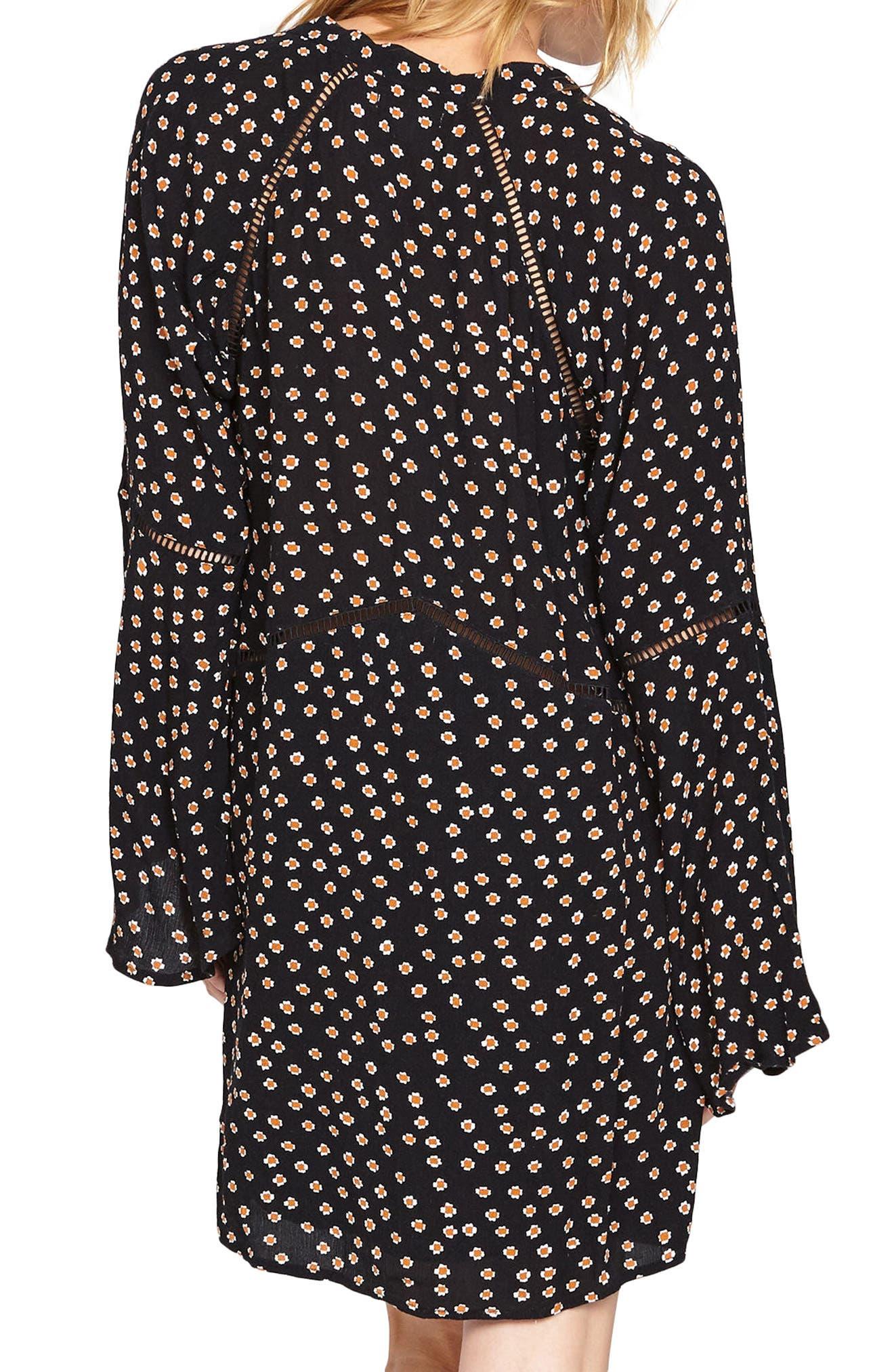 Lovestruck Empire Waist Dress,                             Alternate thumbnail 2, color,                             001