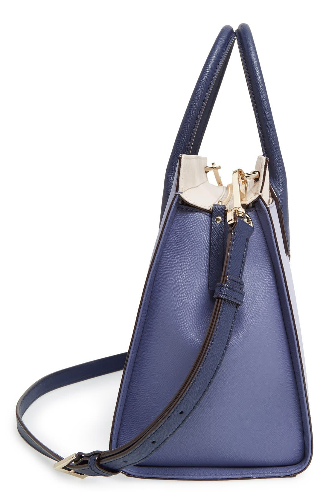 cameron street - candace leather satchel,                             Alternate thumbnail 39, color,