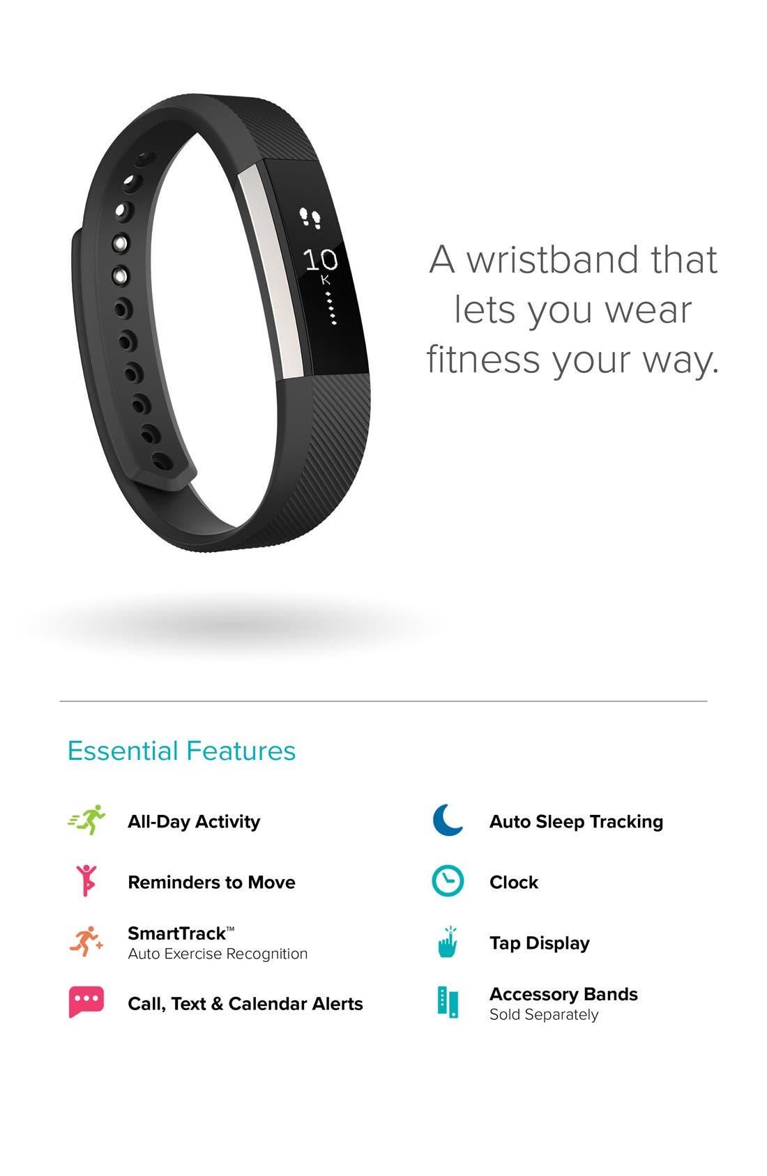 'Alta' Wireless Fitness Tracker,                             Alternate thumbnail 3, color,                             PLUM