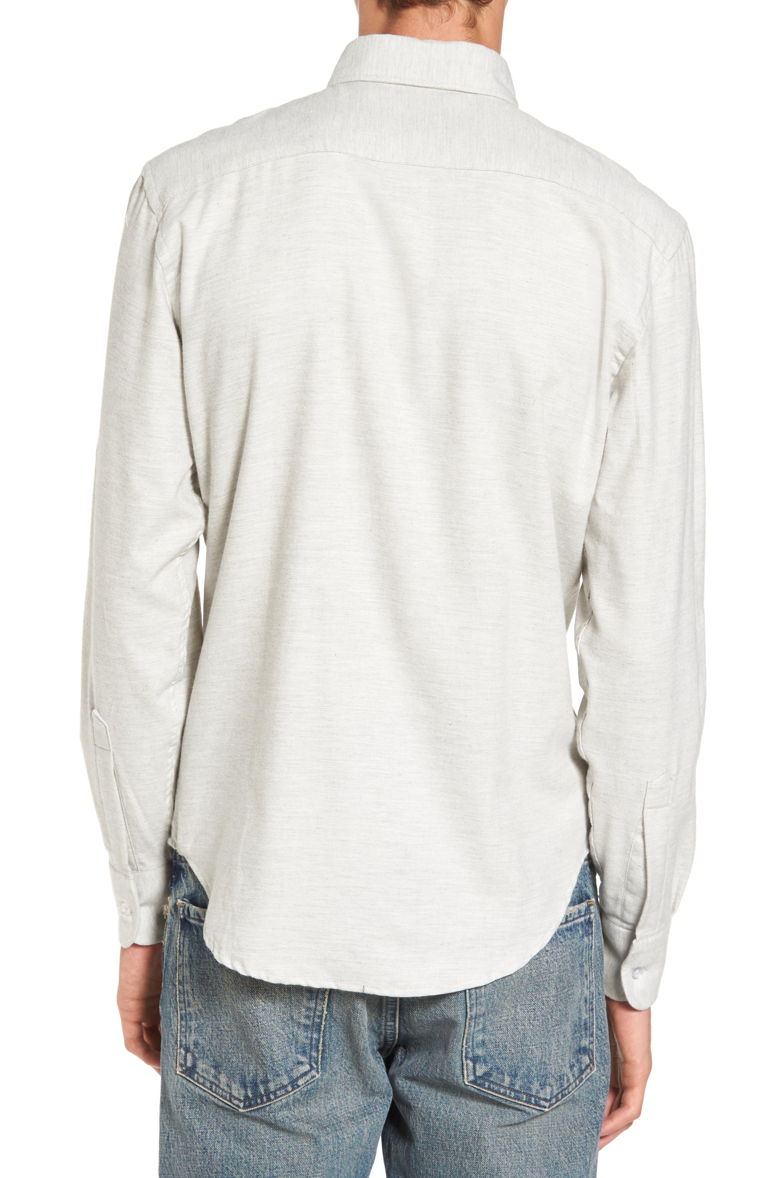 Twill Woven Shirt,                             Alternate thumbnail 4, color,