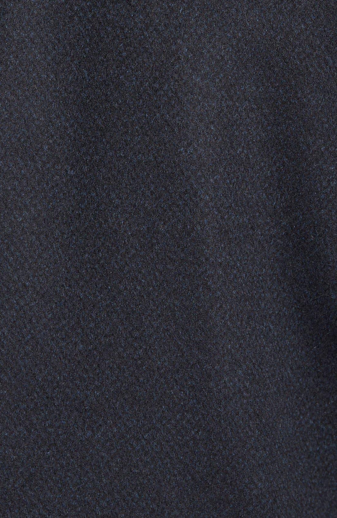 Kingman Modern Fit Wool Blend Coat with Removable Zipper Bib,                             Alternate thumbnail 10, color,
