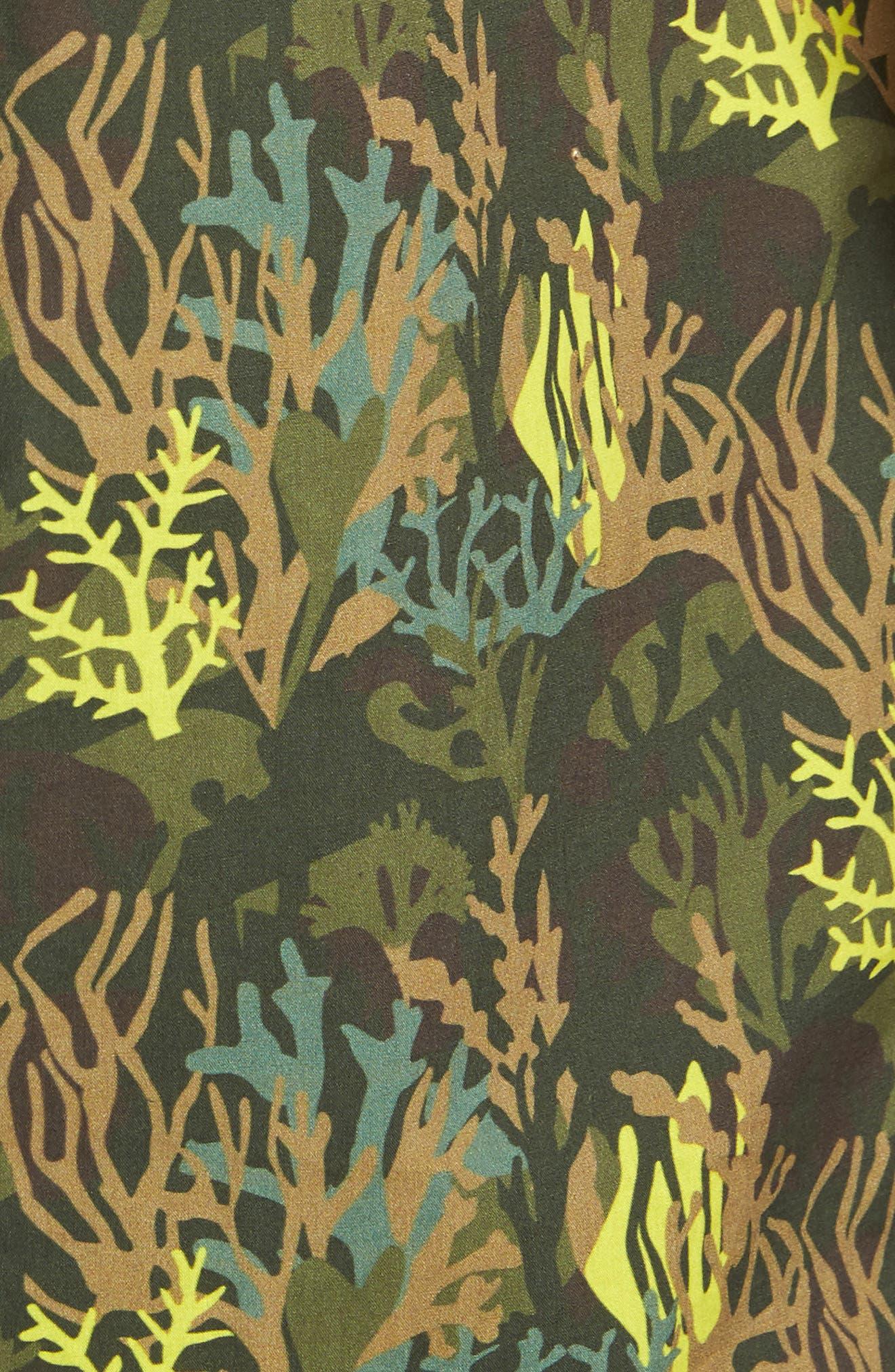 Bottom of The Ocean Woven Shirt,                             Alternate thumbnail 5, color,                             300