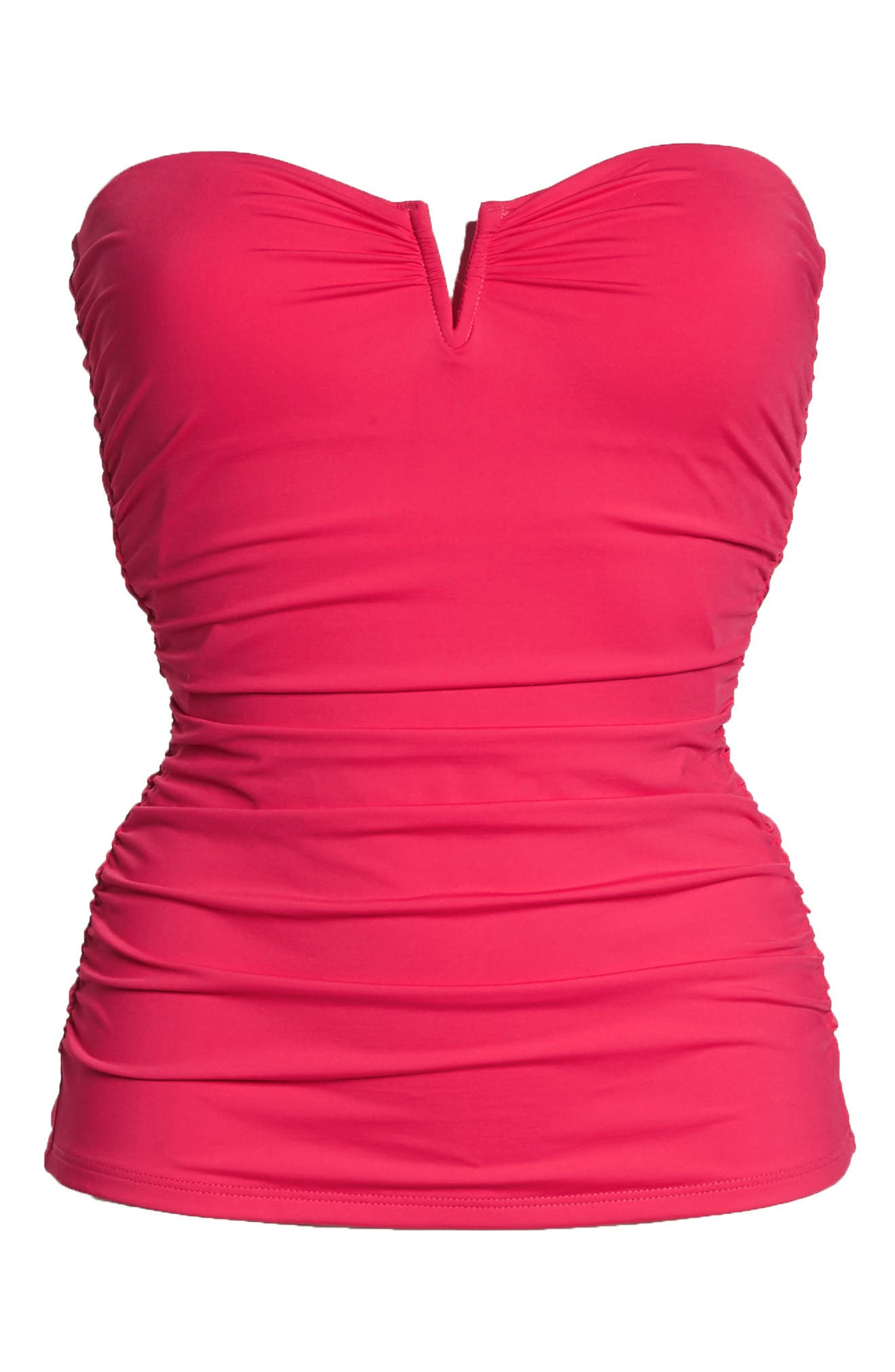 Pearl Convertible Tankini Top,                             Alternate thumbnail 5, color,                             CERISE
