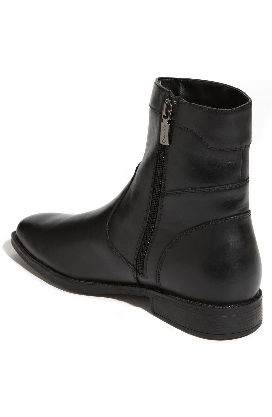 'Valerio' Waterproof Boot,                             Alternate thumbnail 3, color,