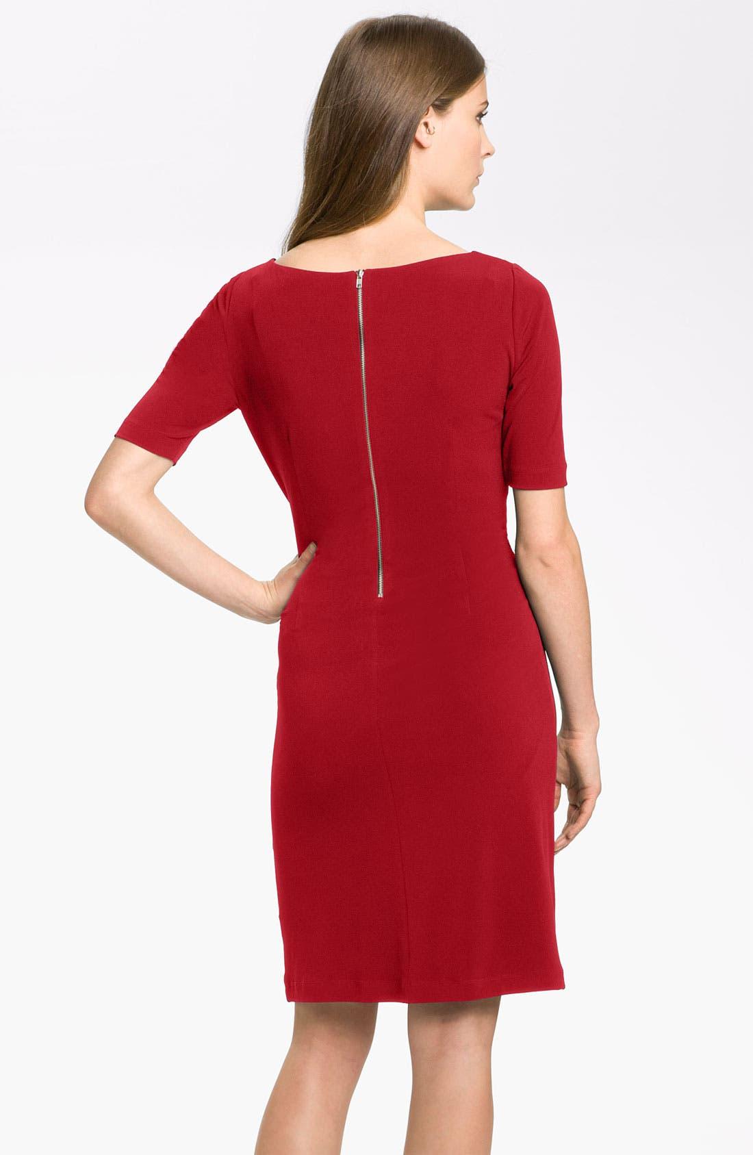 by Arthur S. Levine 'Kevin' Jersey Sheath Dress,                             Alternate thumbnail 13, color,