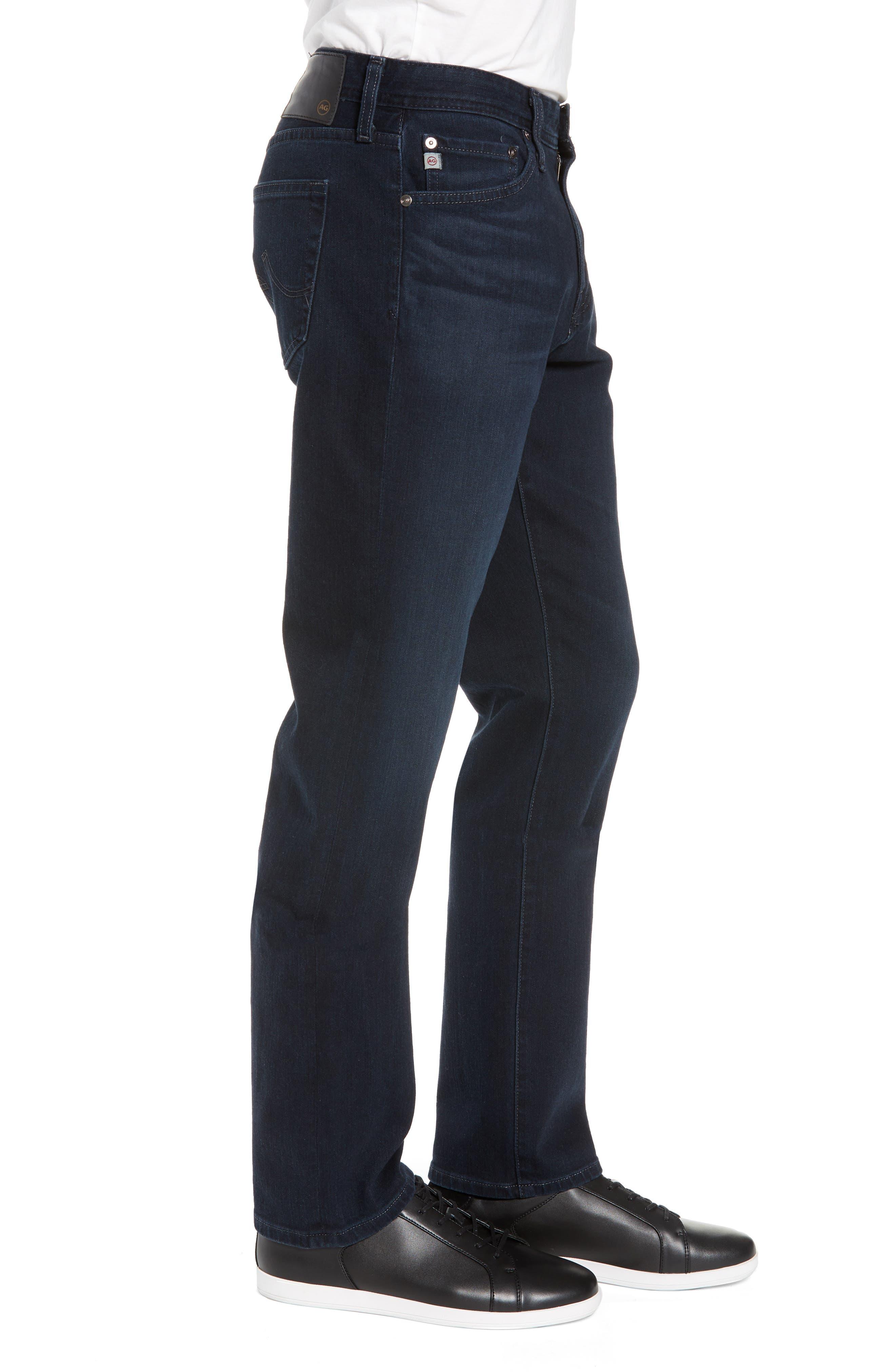 Everett Slim Straight Jeans,                             Alternate thumbnail 3, color,                             ORISON