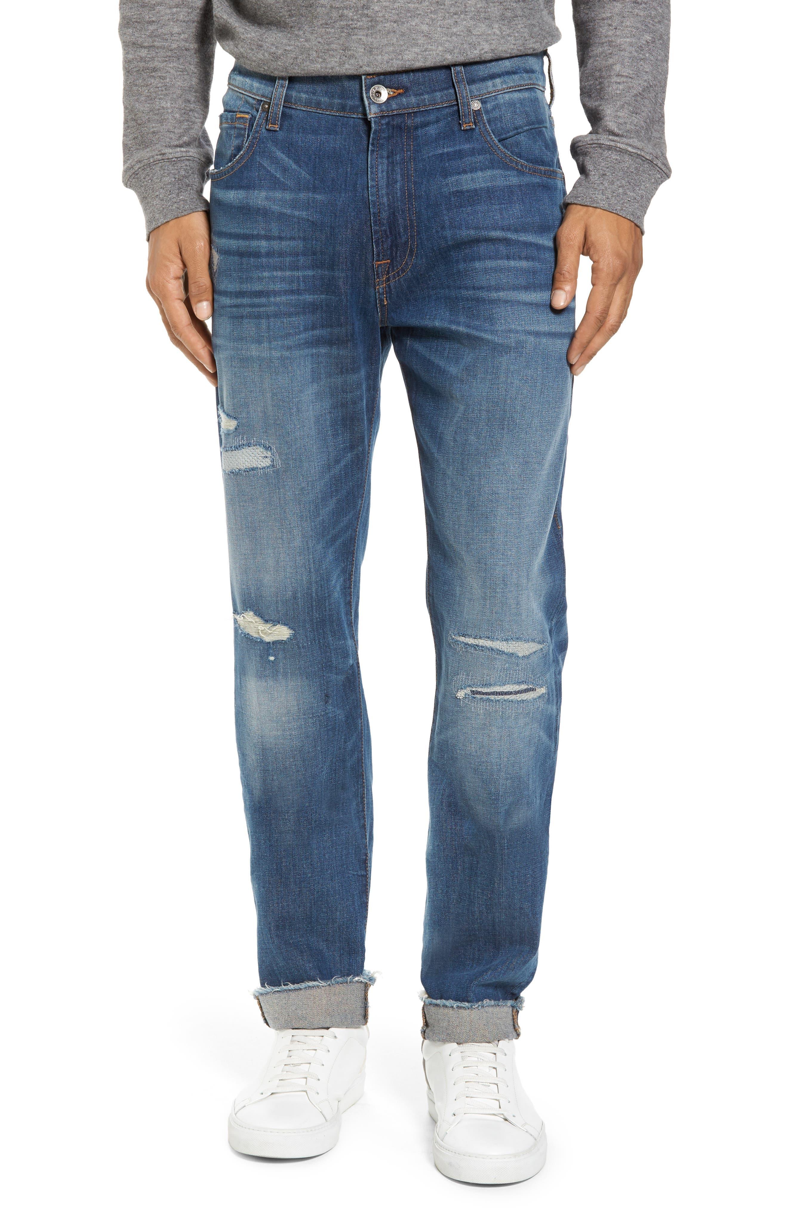 Adrien Slim Fit Jeans,                             Main thumbnail 1, color,                             403