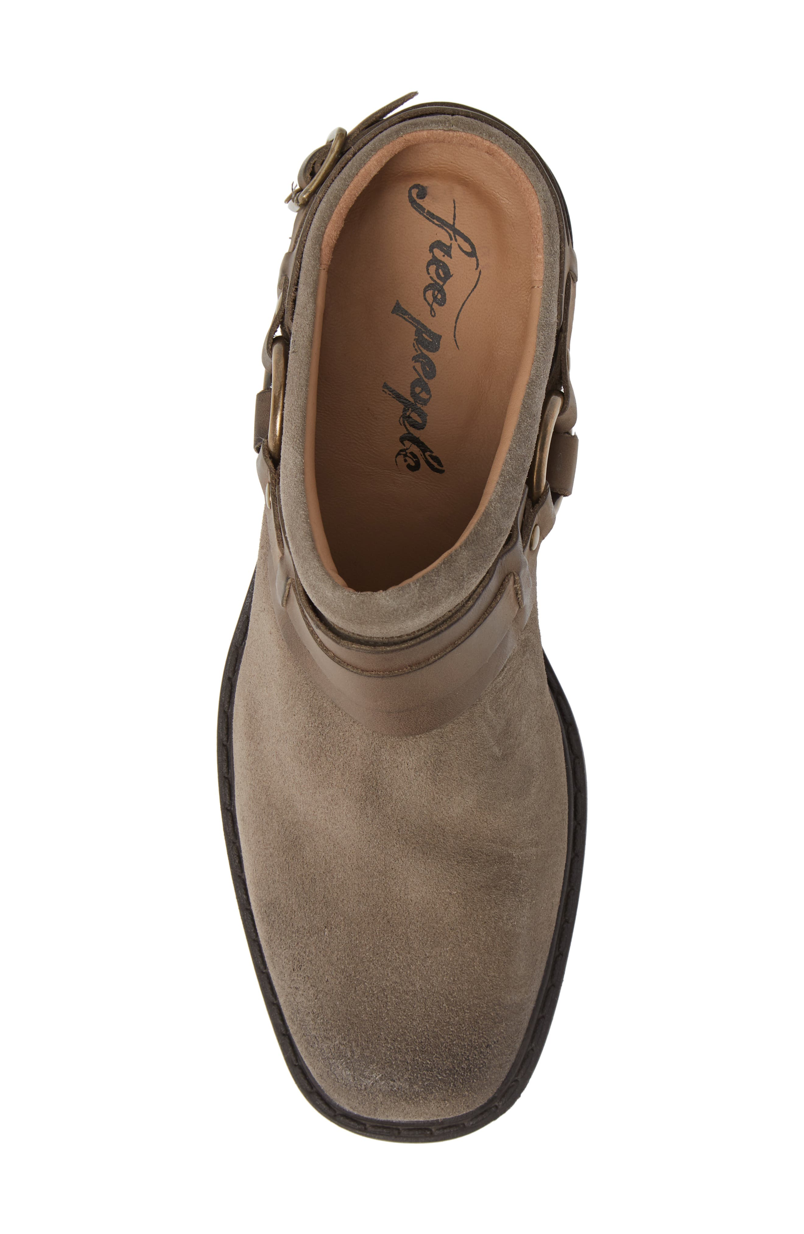 Marco Mule,                             Alternate thumbnail 5, color,                             TAUPE LEATHER