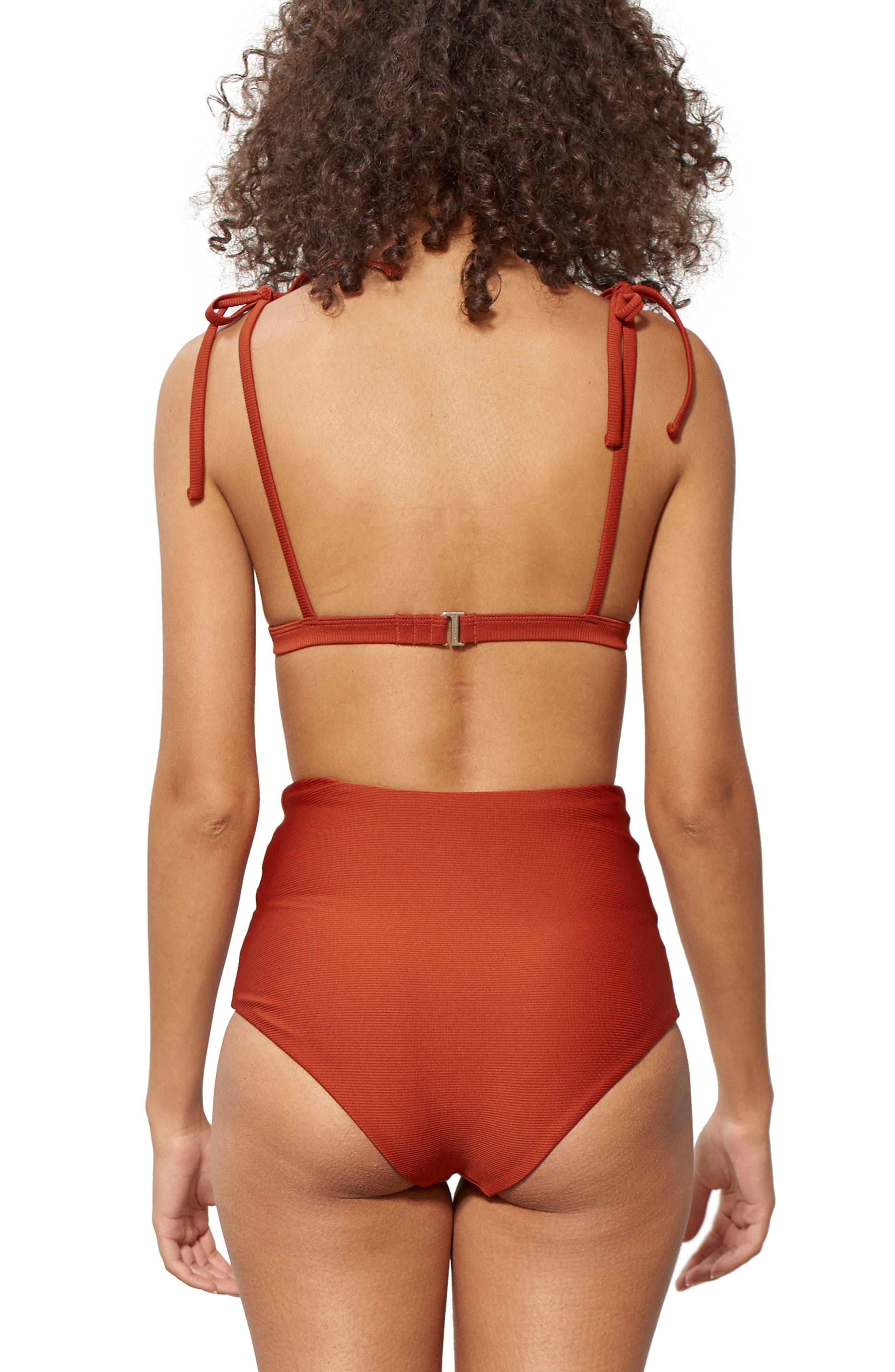 Ina Grommet Bikini Top,                             Alternate thumbnail 4, color,                             210